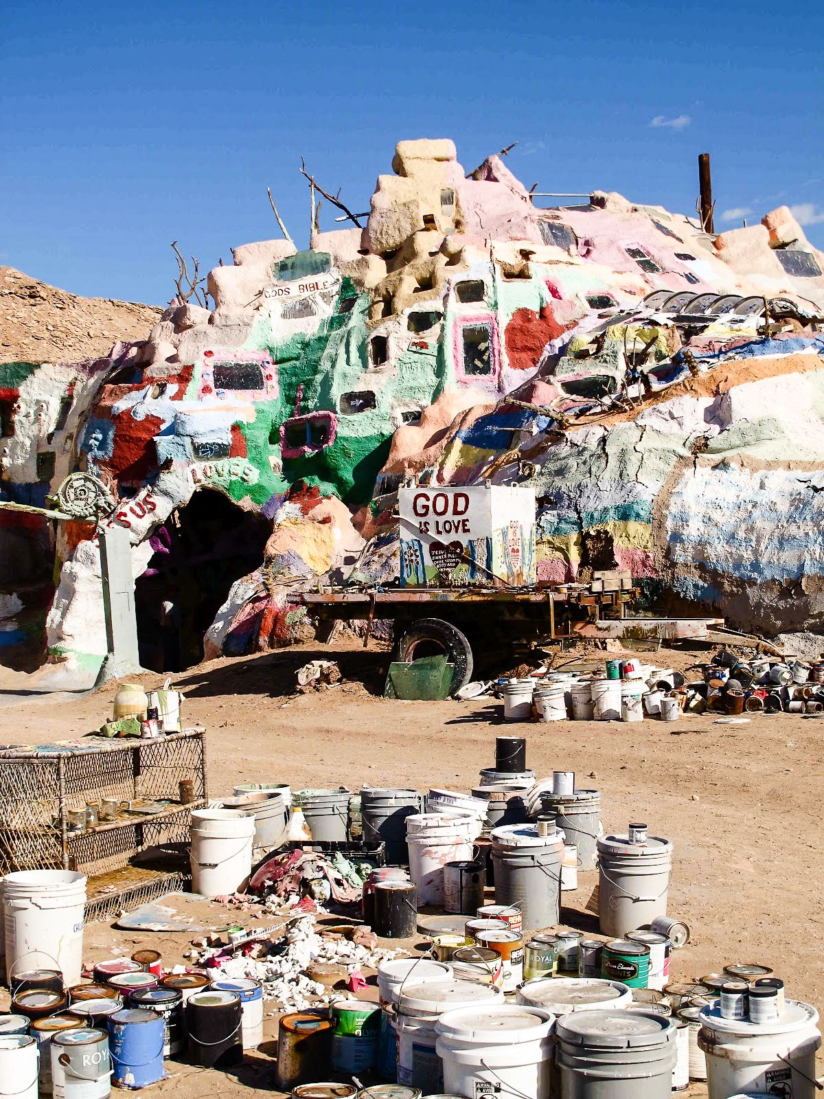 Have You Ever Heard Of Salvation Mountain in California? (3)