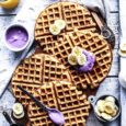 How To Make Indulgently Fluffy Gin And Tonic Waffles