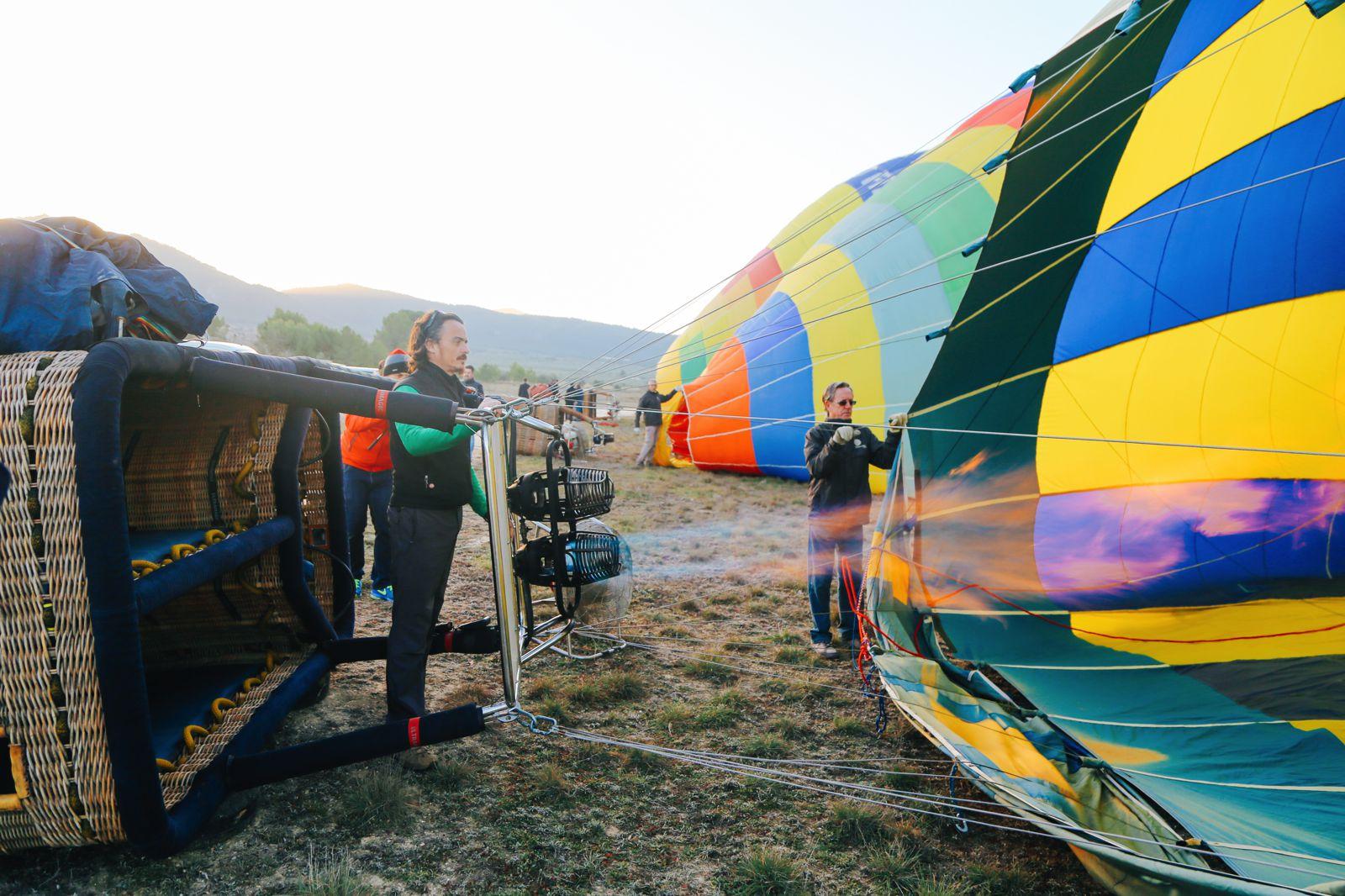 Hot Air Balloon Sunrise... In Sierra De Mariola, Valencia (6)