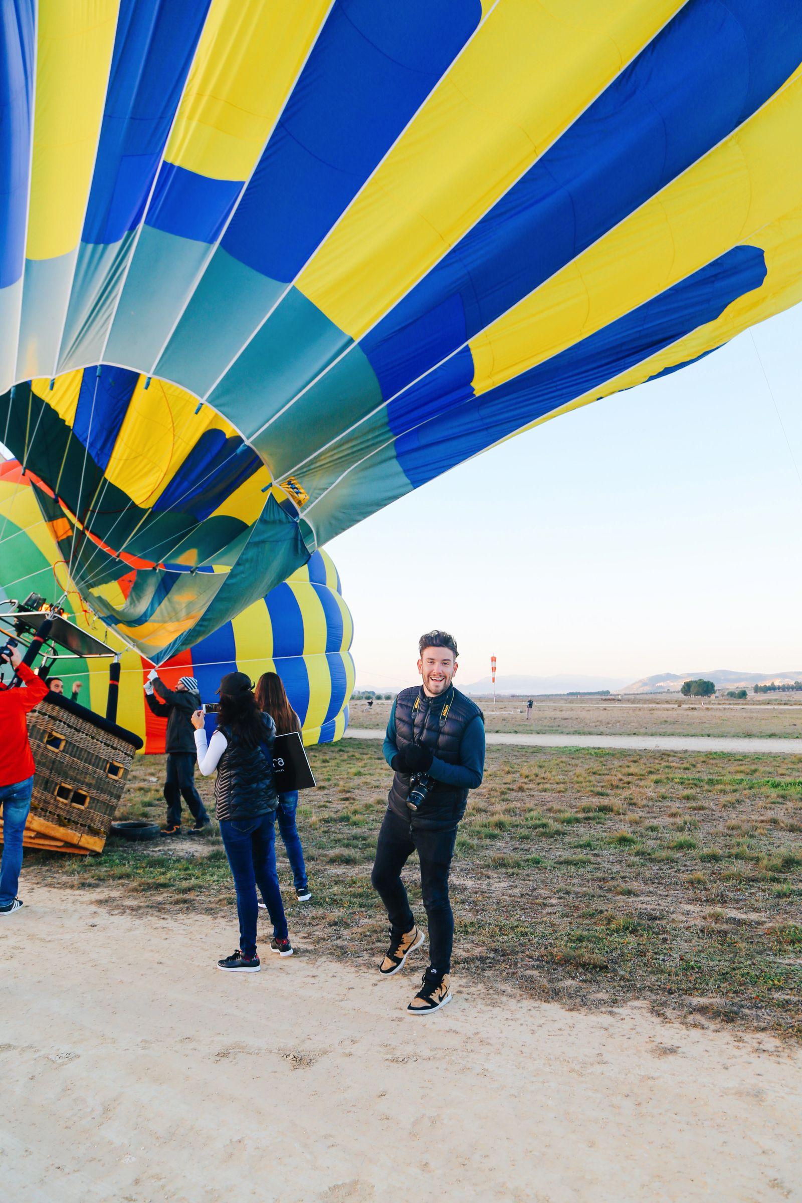 Hot Air Balloon Sunrise... In Sierra De Mariola, Valencia (7)