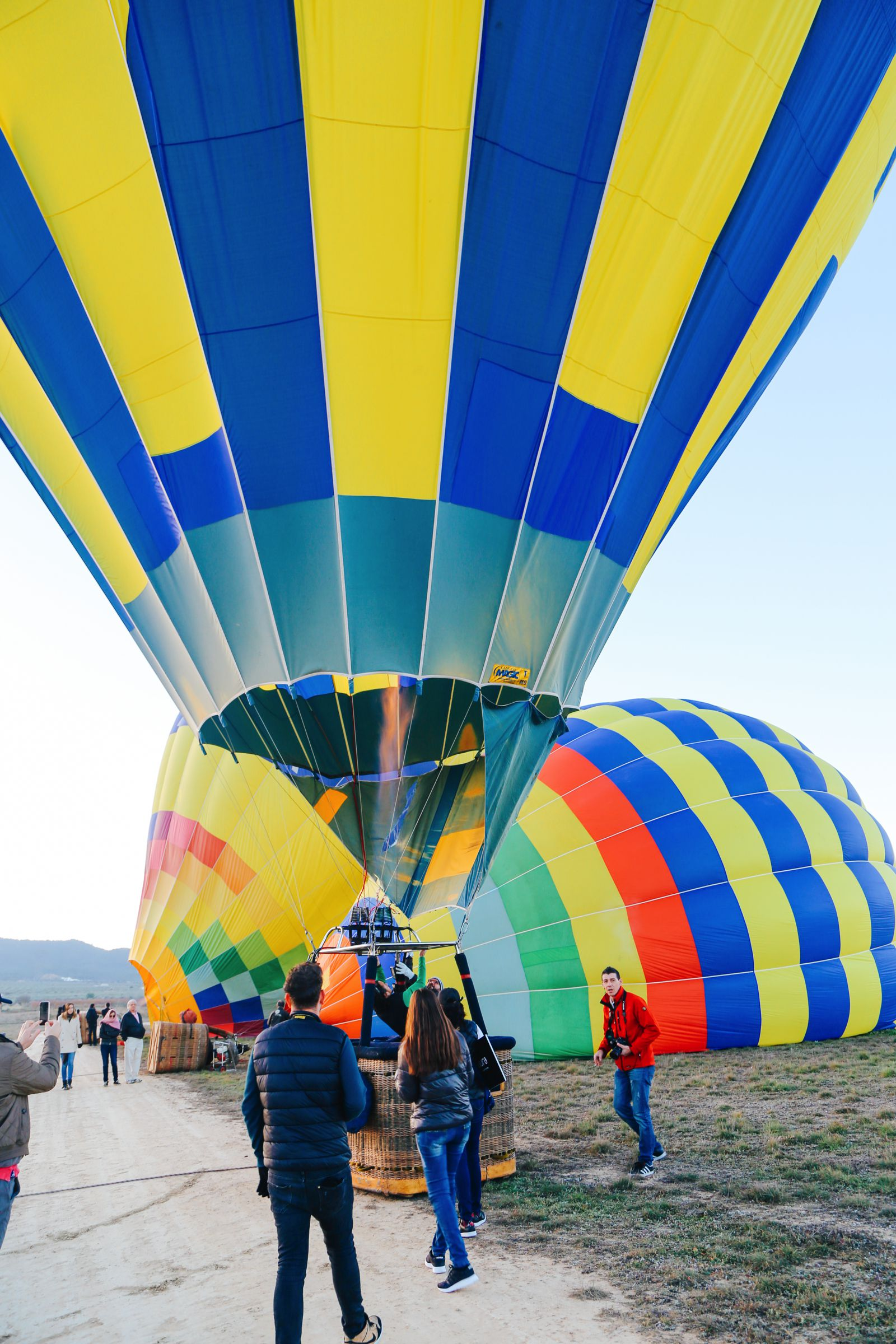Hot Air Balloon Sunrise... In Sierra De Mariola, Valencia (9)