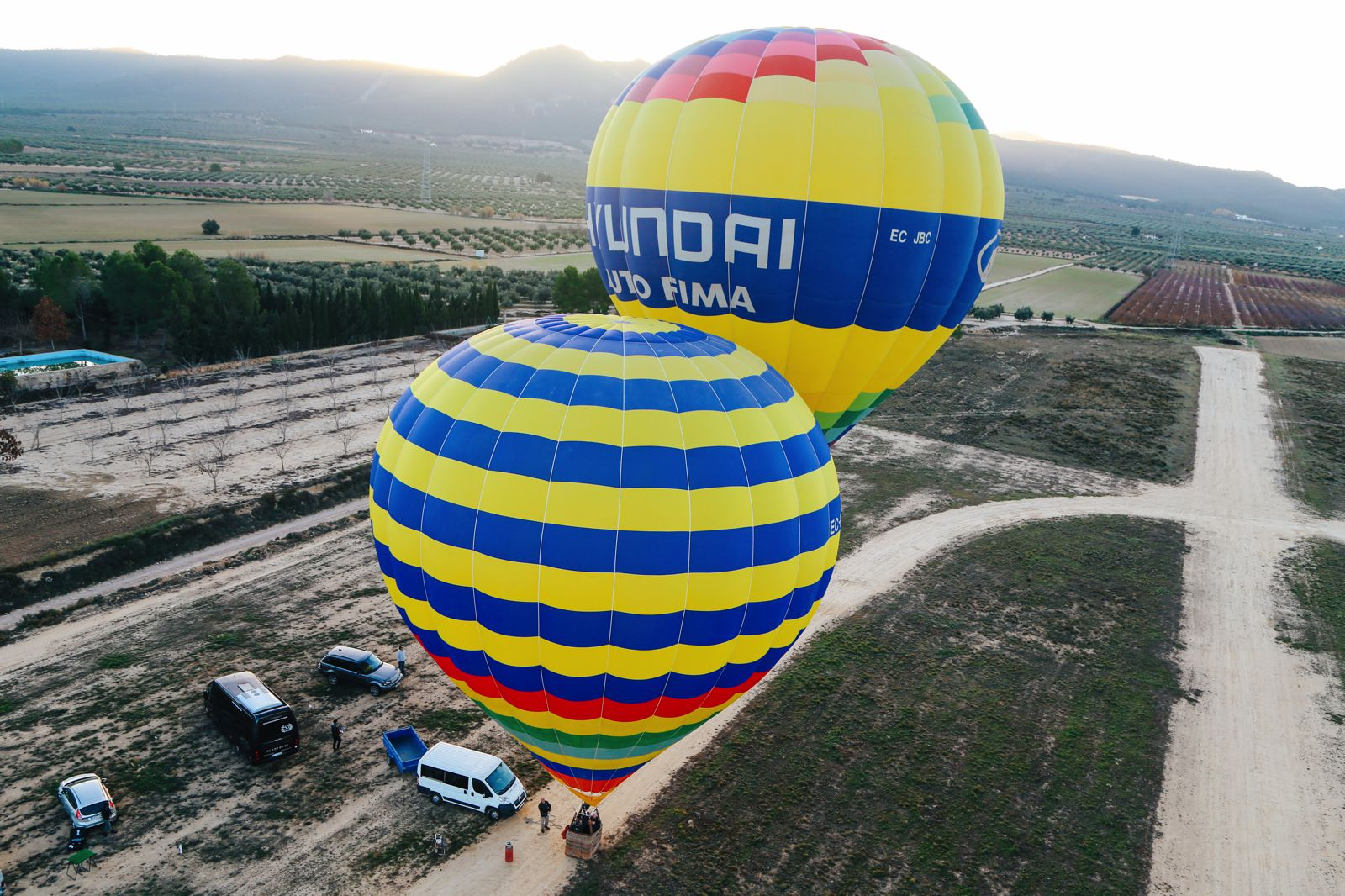 Hot Air Balloon Sunrise... In Sierra De Mariola, Valencia (12)