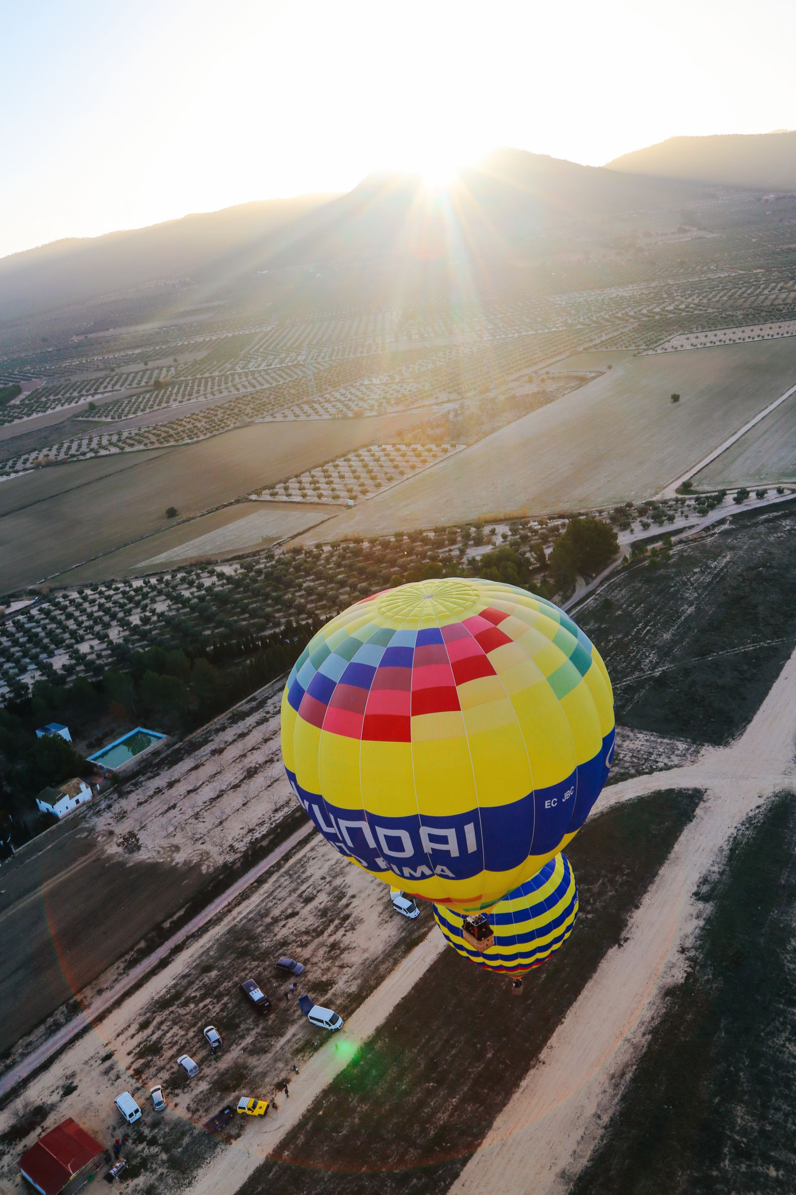 Hot Air Balloon Sunrise... In Sierra De Mariola, Valencia (13)
