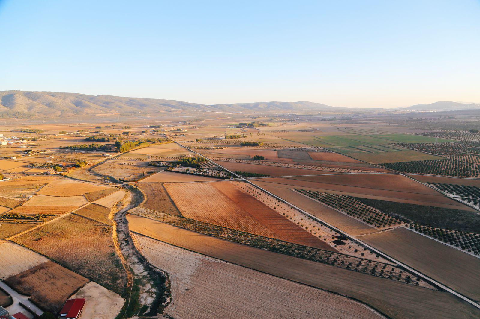 Hot Air Balloon Sunrise... In Sierra De Mariola, Valencia (14)