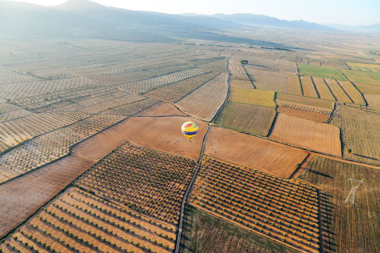 Hot Air Balloon Sunrise... In Sierra De Mariola, Valencia (38)