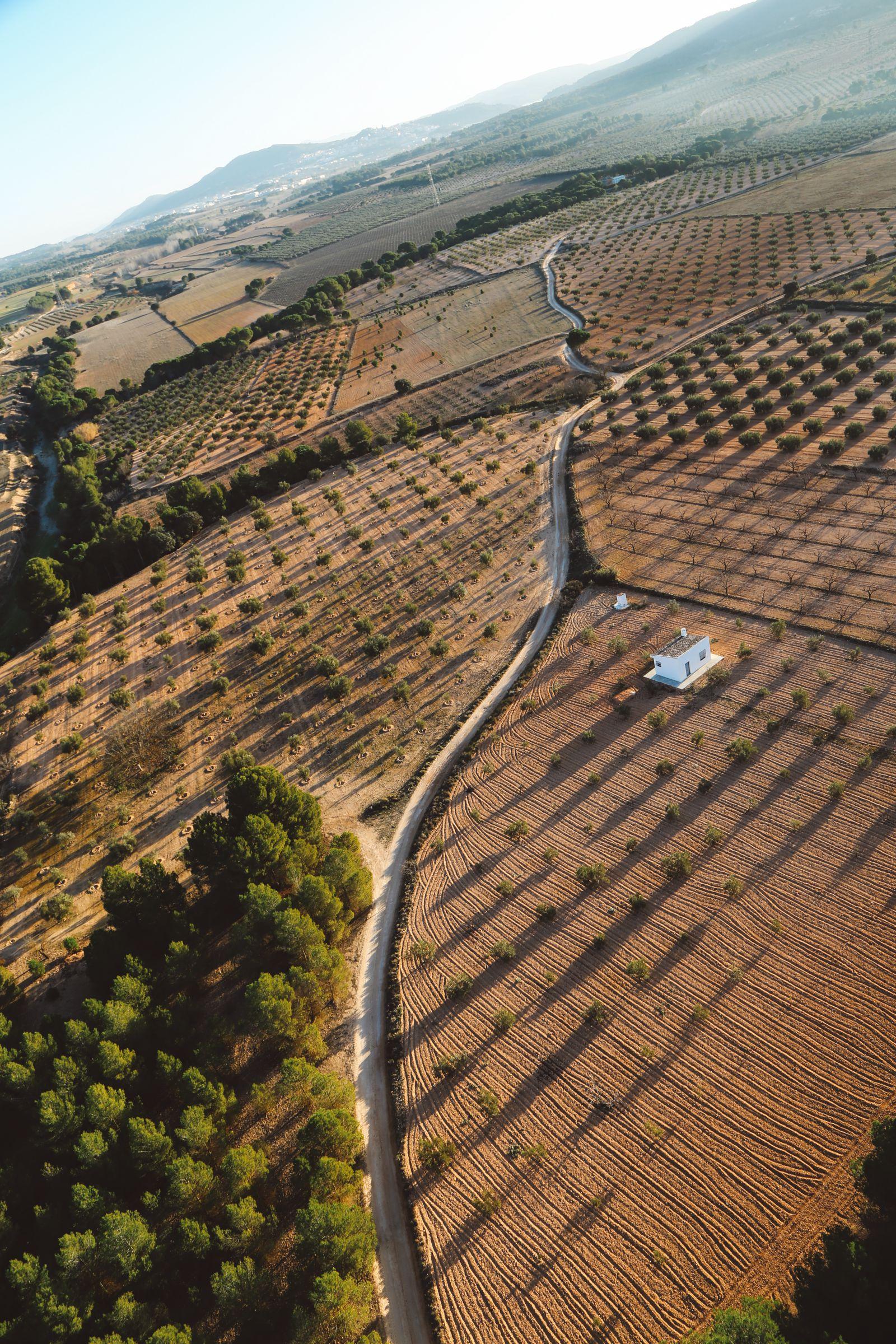 Hot Air Balloon Sunrise... In Sierra De Mariola, Valencia (43)