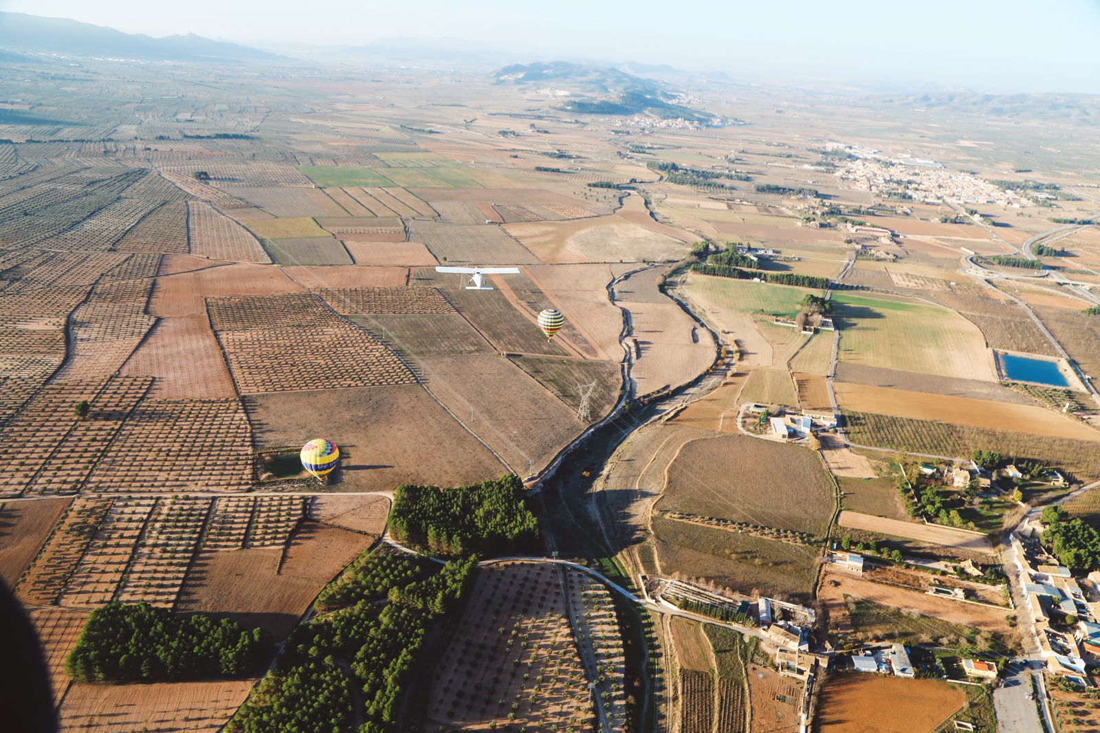 Hot Air Balloon Sunrise... In Sierra De Mariola, Valencia (49)