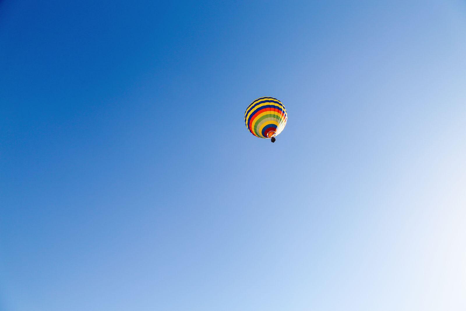 Hot Air Balloon Sunrise... In Sierra De Mariola, Valencia (56)