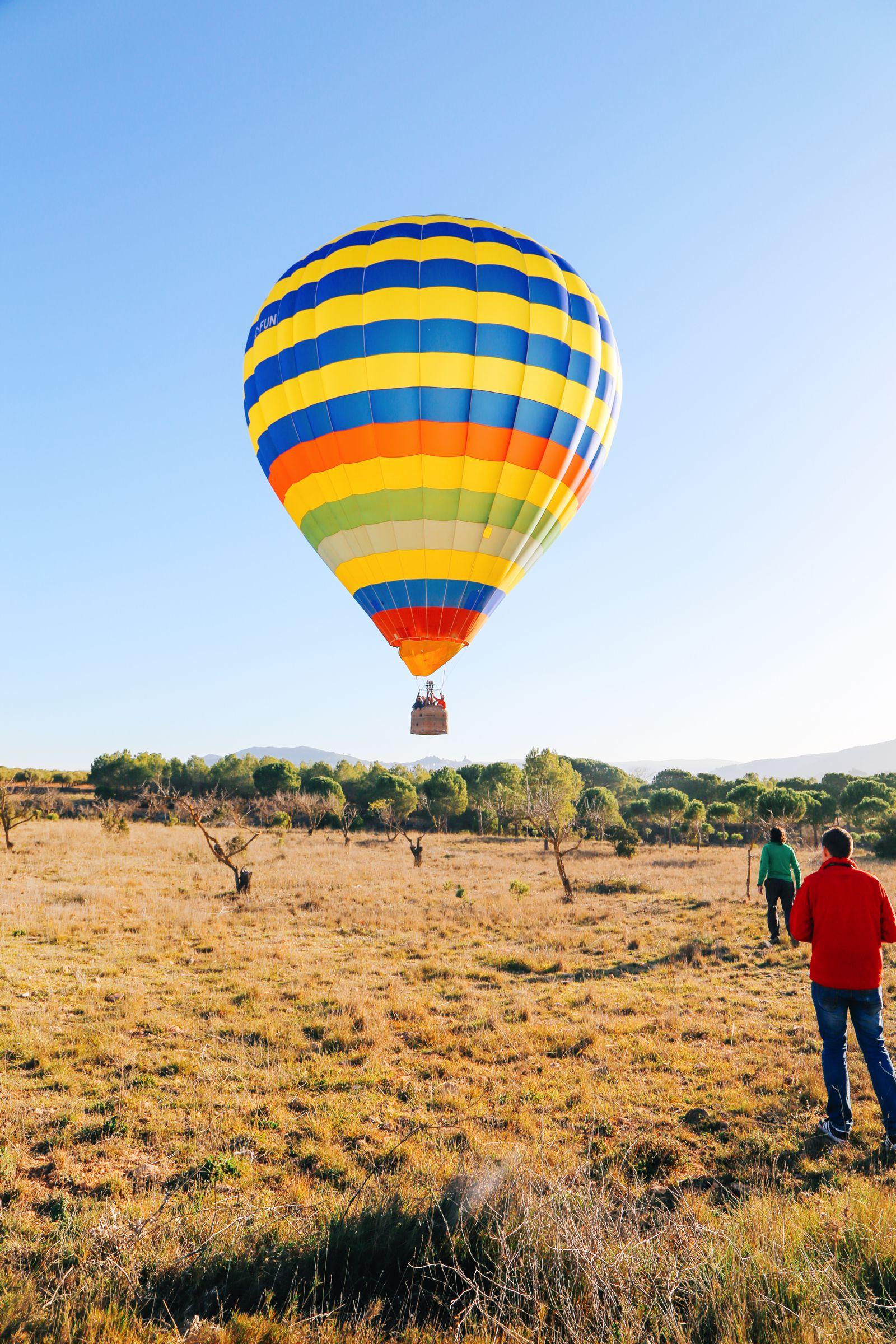 Hot Air Balloon Sunrise... In Sierra De Mariola, Valencia (57)