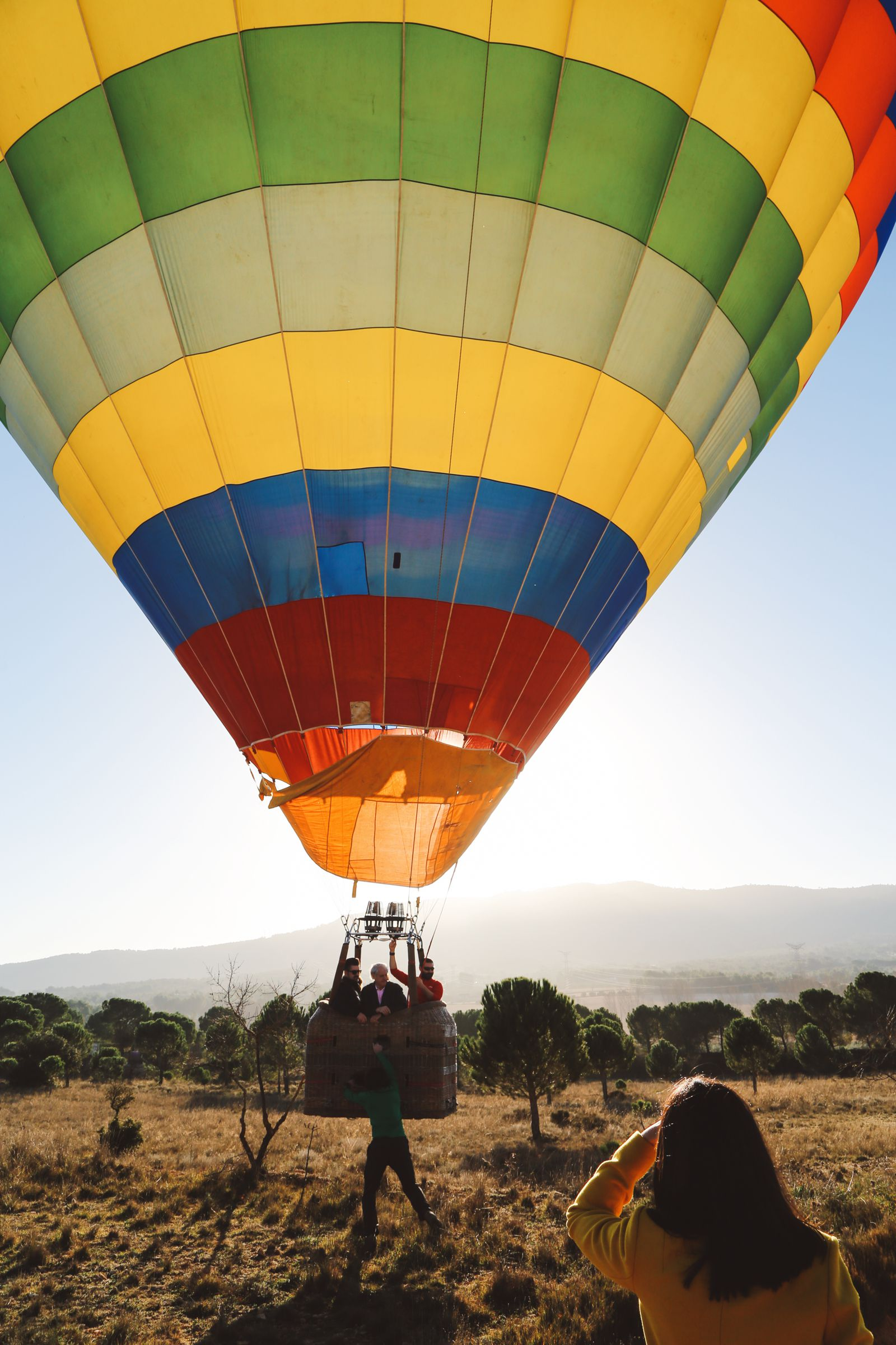 Hot Air Balloon Sunrise... In Sierra De Mariola, Valencia (58)
