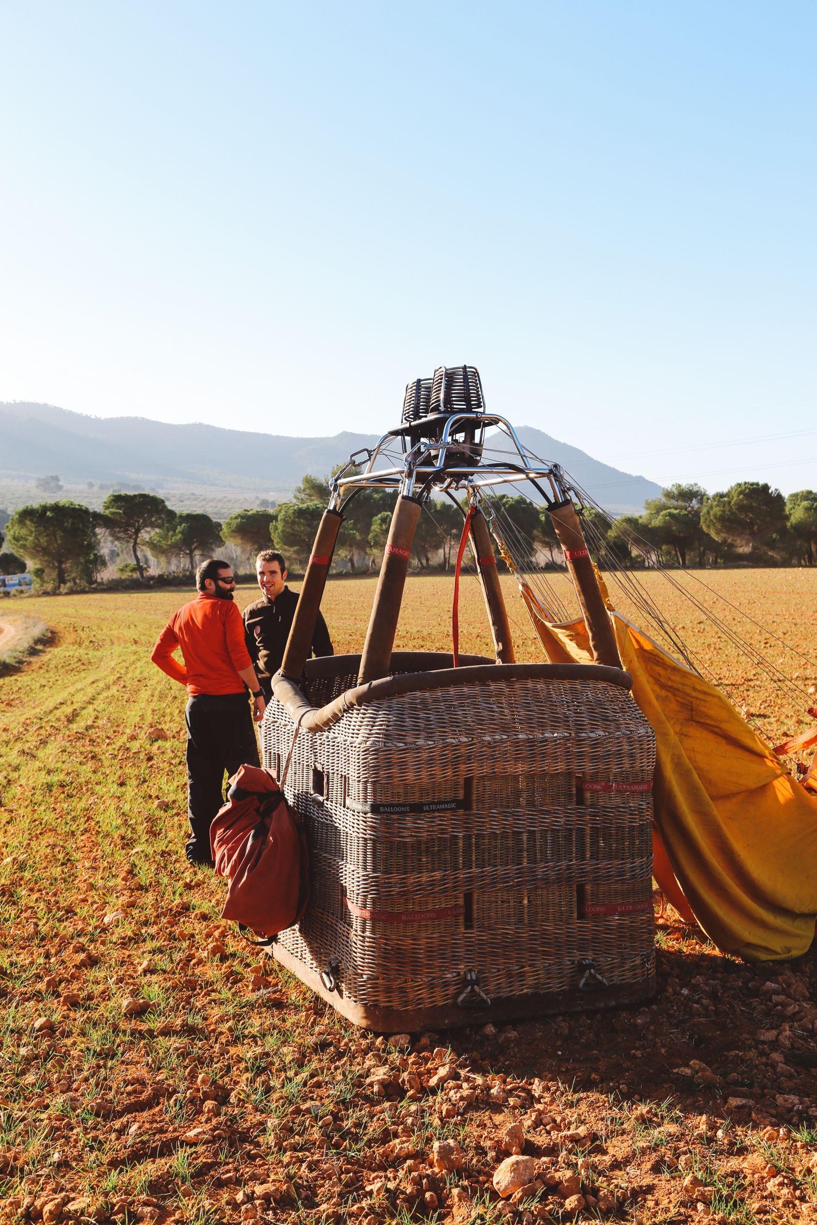 Hot Air Balloon Sunrise... In Sierra De Mariola, Valencia (61)