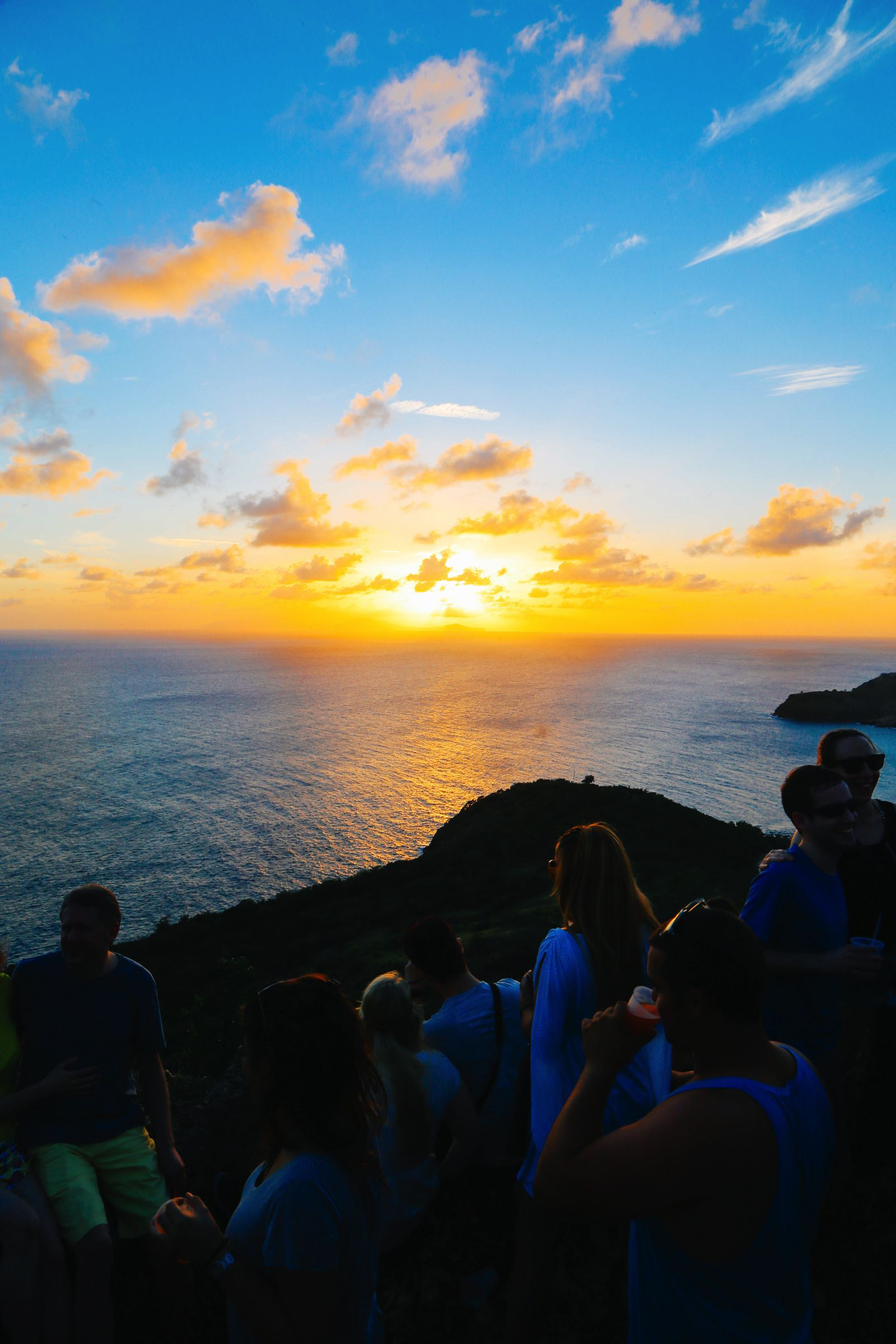 The Party (And Stunning Sunset) At Shirley Heights, Antigua (6)