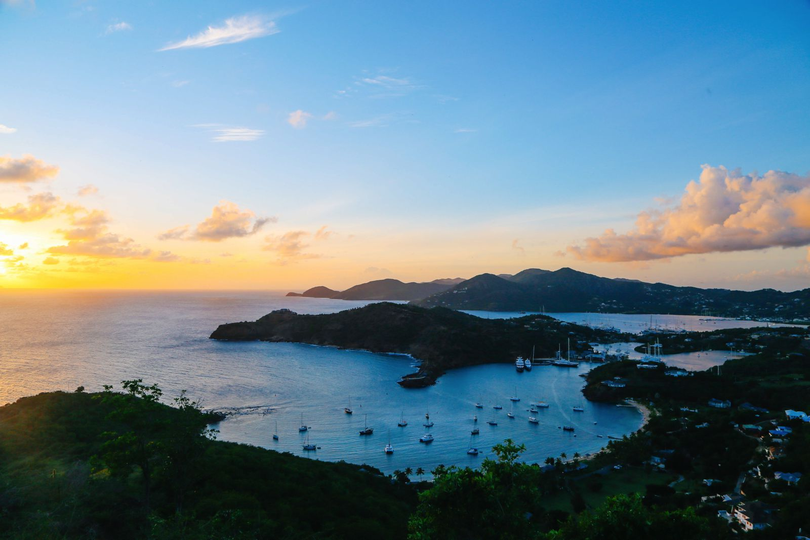 The Party (And Stunning Sunset) At Shirley Heights, Antigua (7)