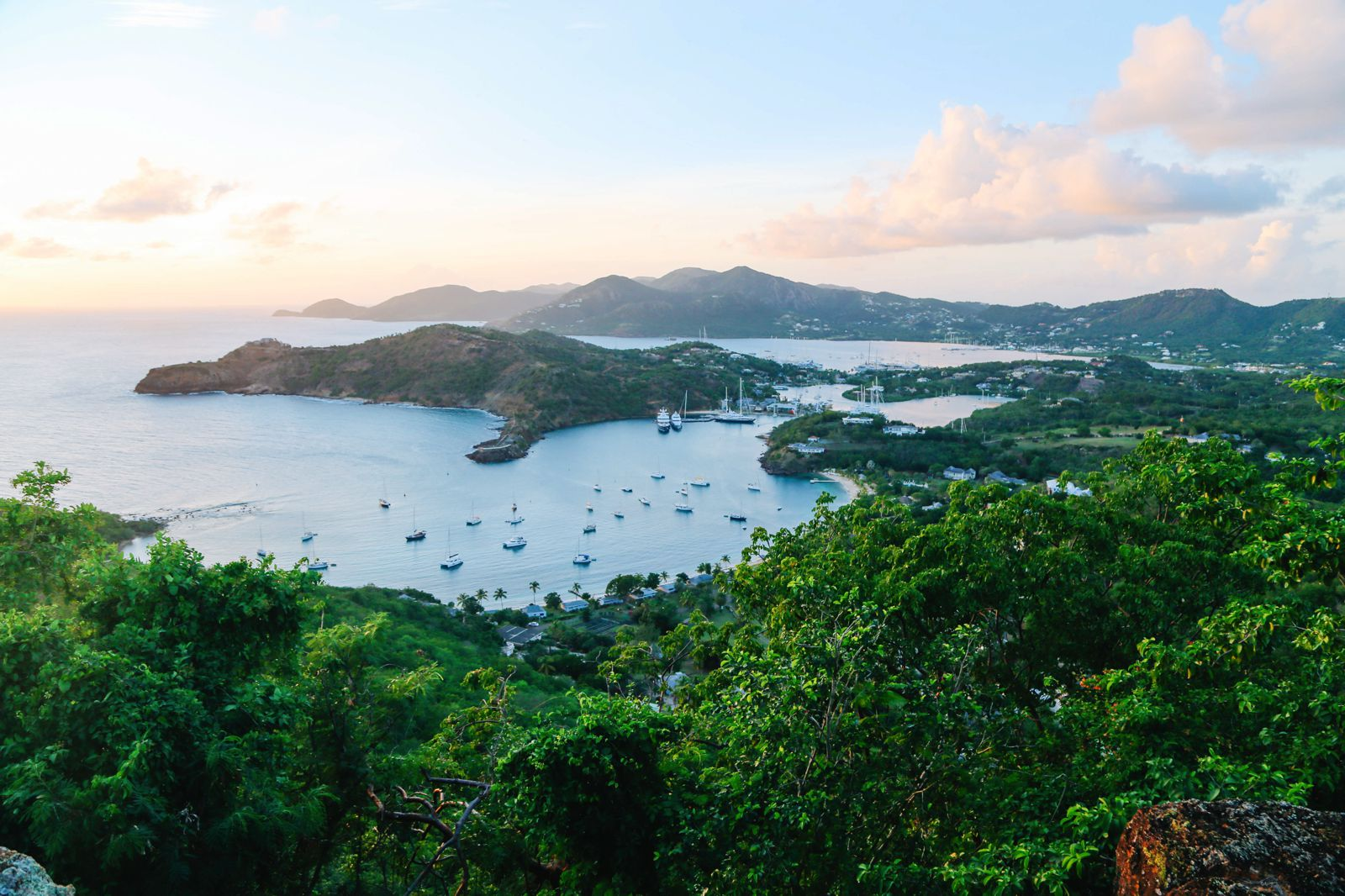 The Party (And Stunning Sunset) At Shirley Heights, Antigua (8)