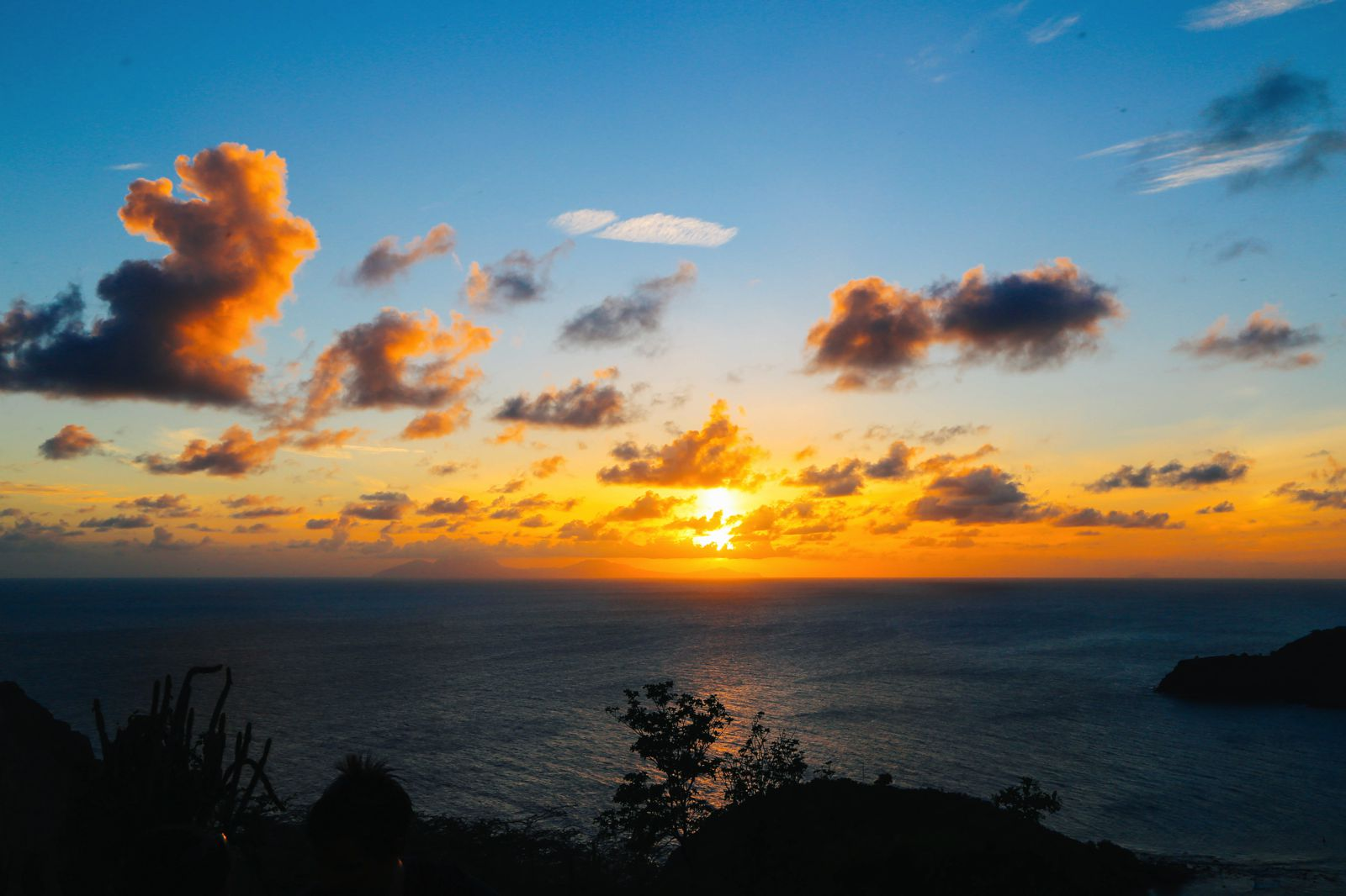 The Party (And That Stunning Sunset) At Shirley Heights, Antigua ...