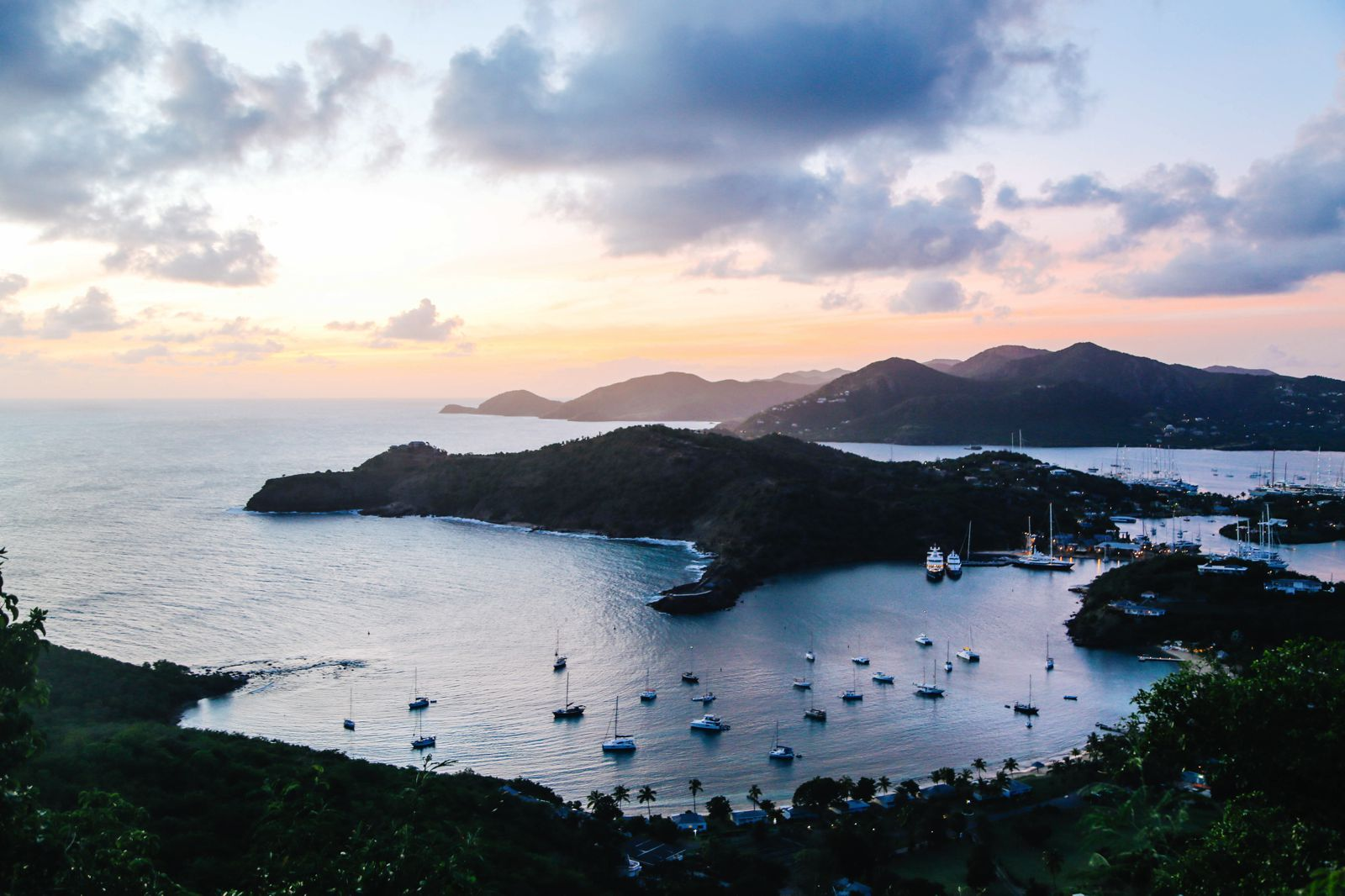 The Party (And Stunning Sunset) At Shirley Heights, Antigua (15)