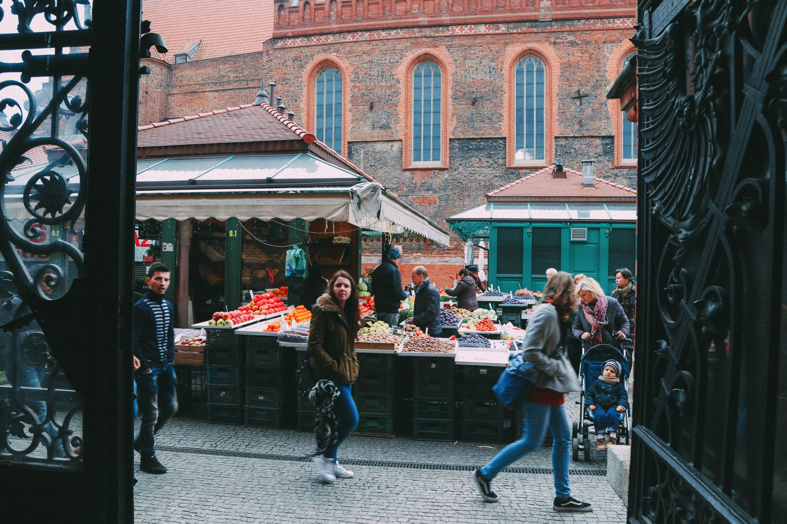 The Beautiful Old Town Of Gdansk In Poland   PART 1 (28)