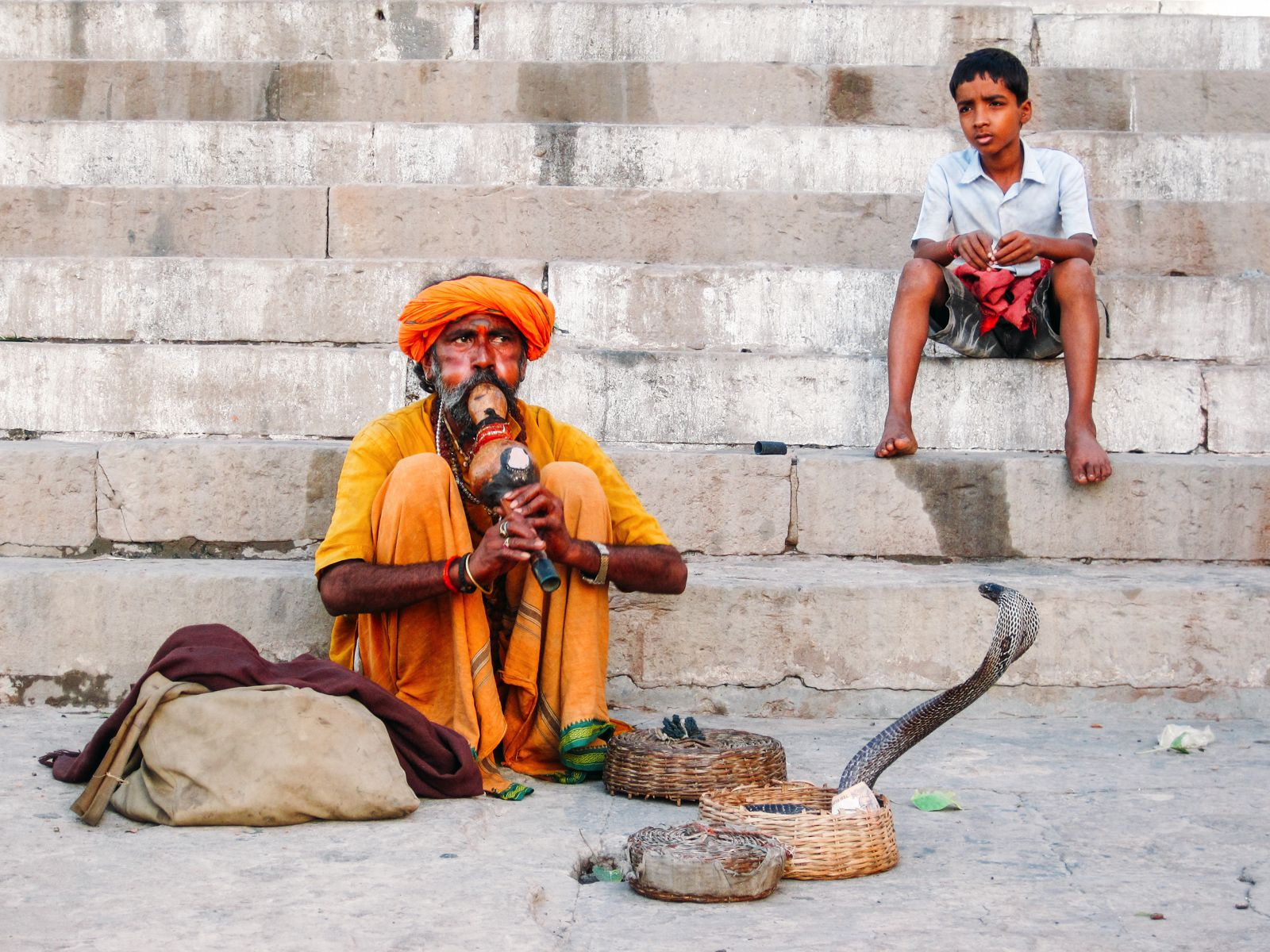 Snake Charming Cruelty (2)