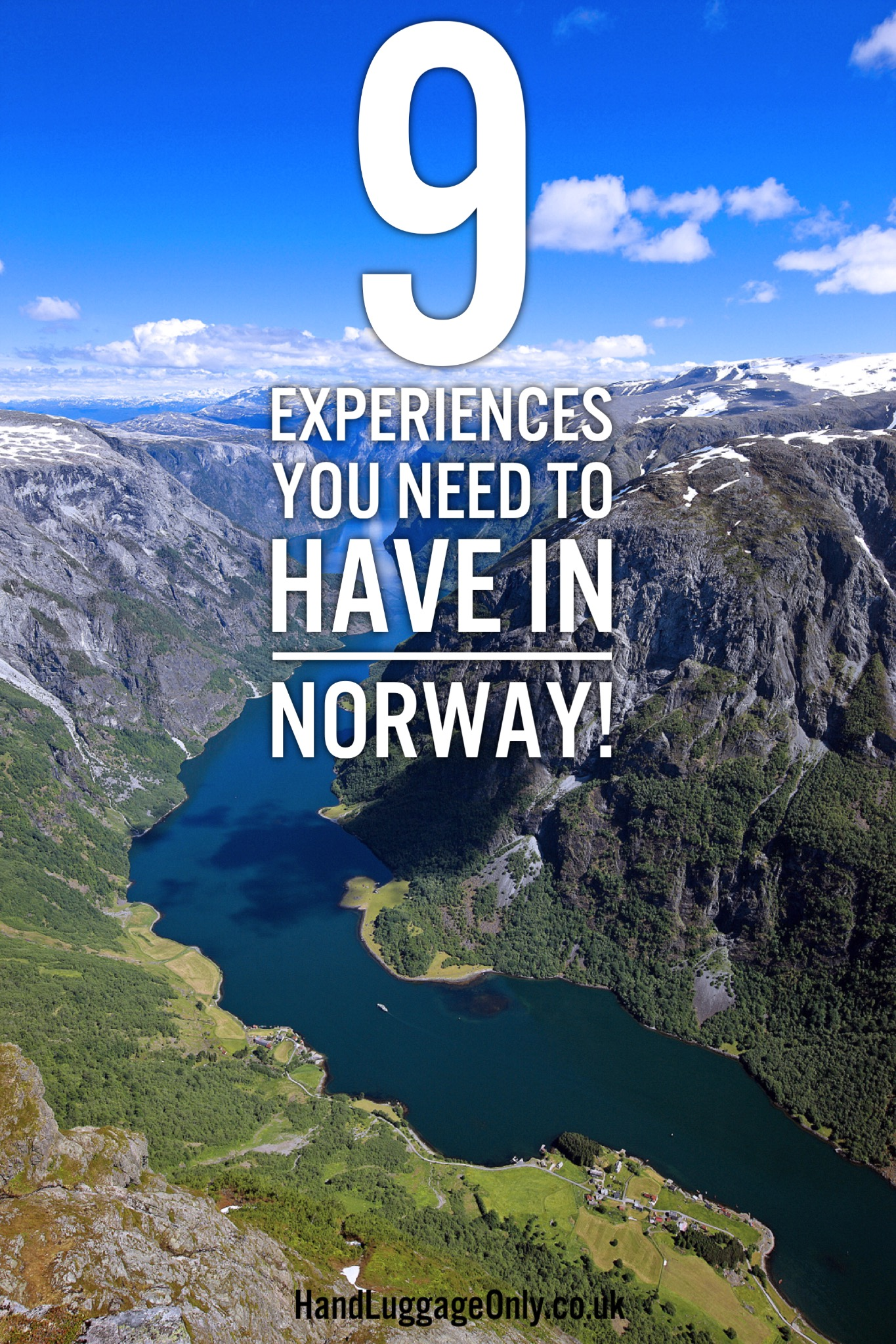 9 Experiences To Have In Norway