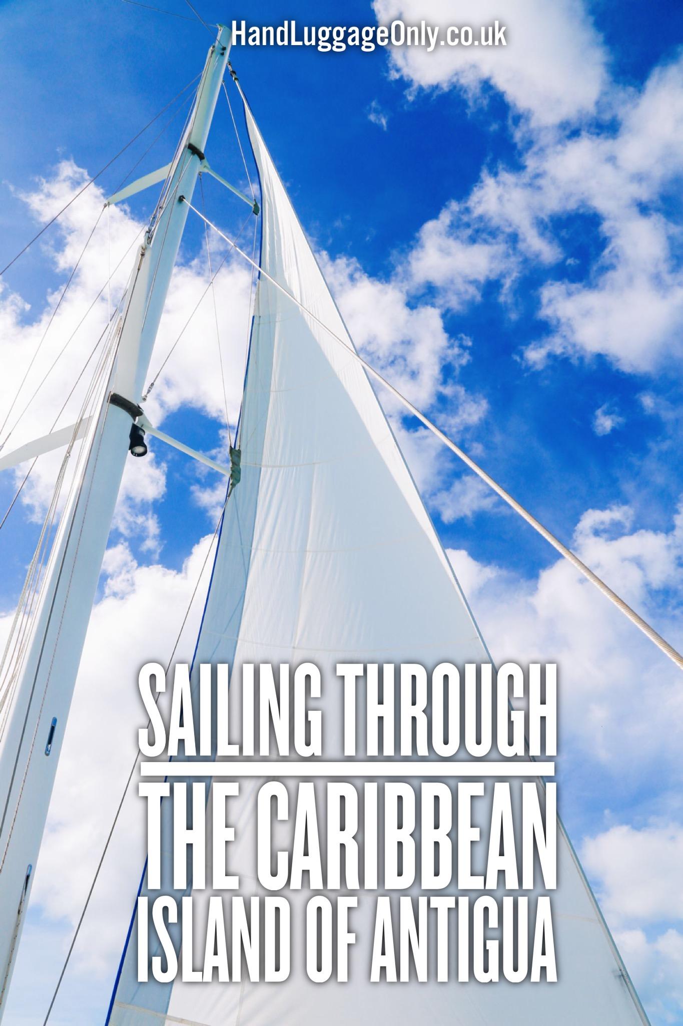Sailing In Antigua, The Caribbean