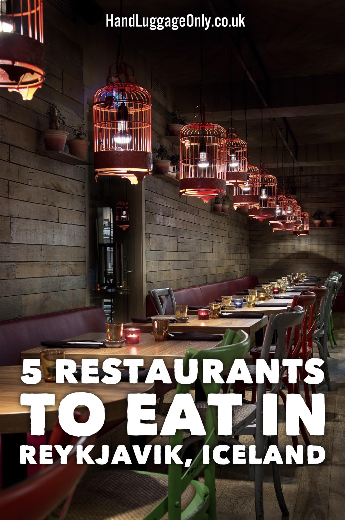 5 Unique Restaurants To Eat In Reykjavik Iceland Hand