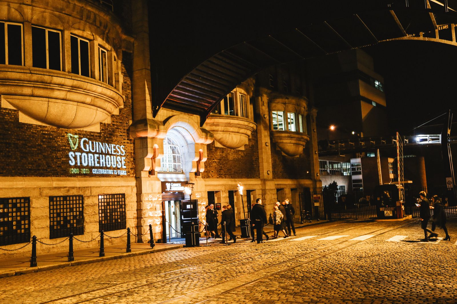 Photo Diary - THAT Irish Party... at The Guinness Storehouse (3)