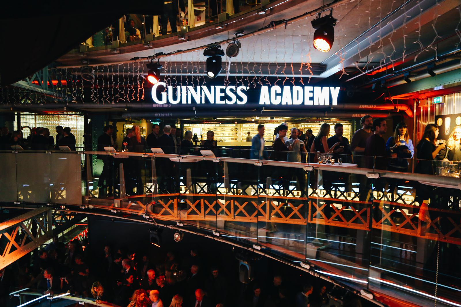 Photo Diary - THAT Irish Party... at The Guinness Storehouse (13)
