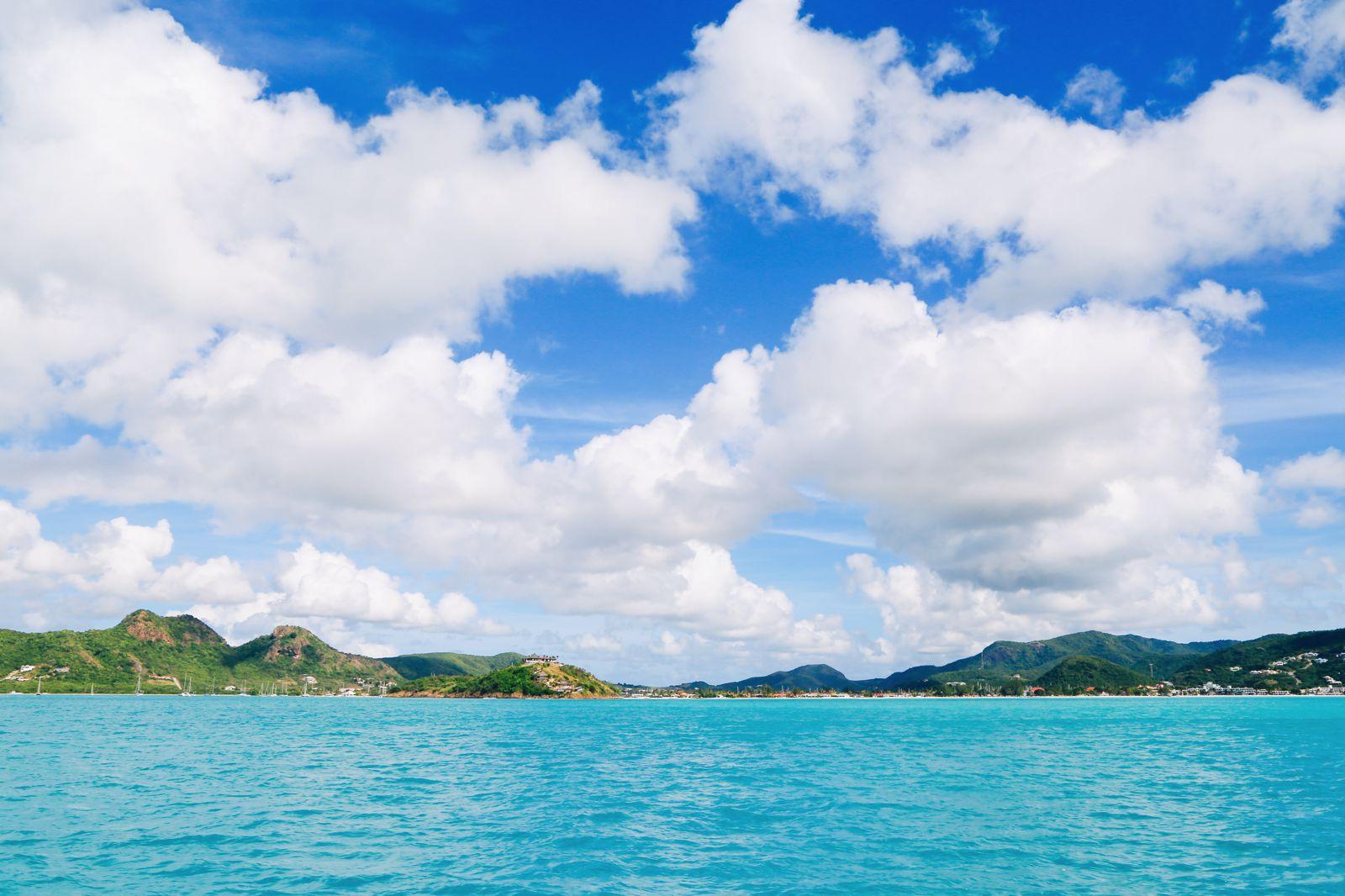 Sailing In Antigua In The Caribbean (2)
