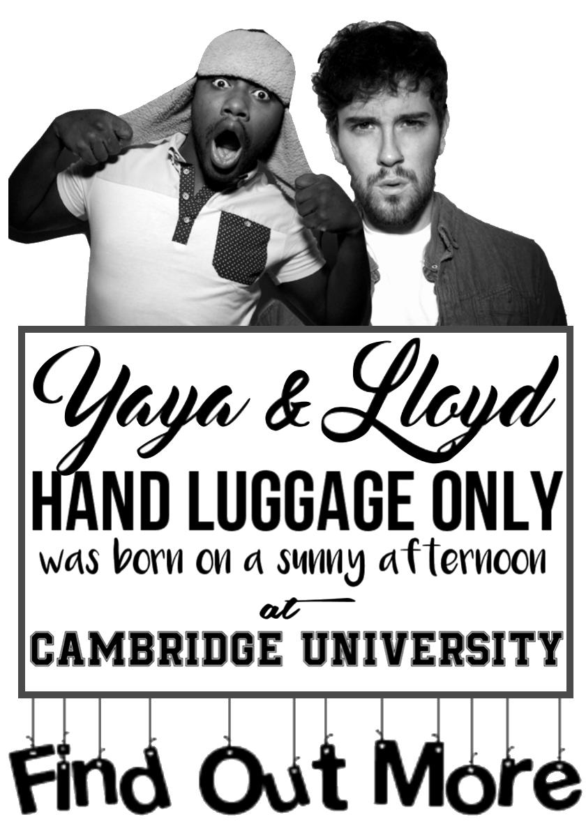 Lloyd Yaya Hand Luggage Only About Page