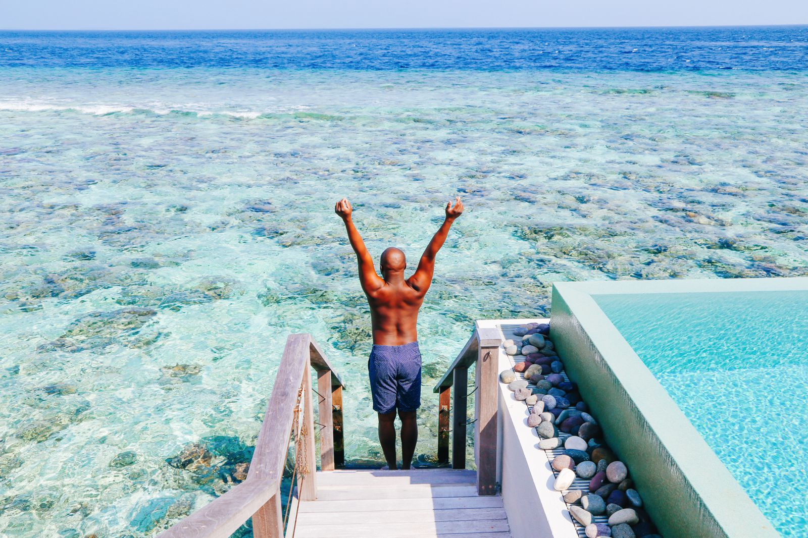 Arrival At The Dusit Thani In The Maldives! (22)