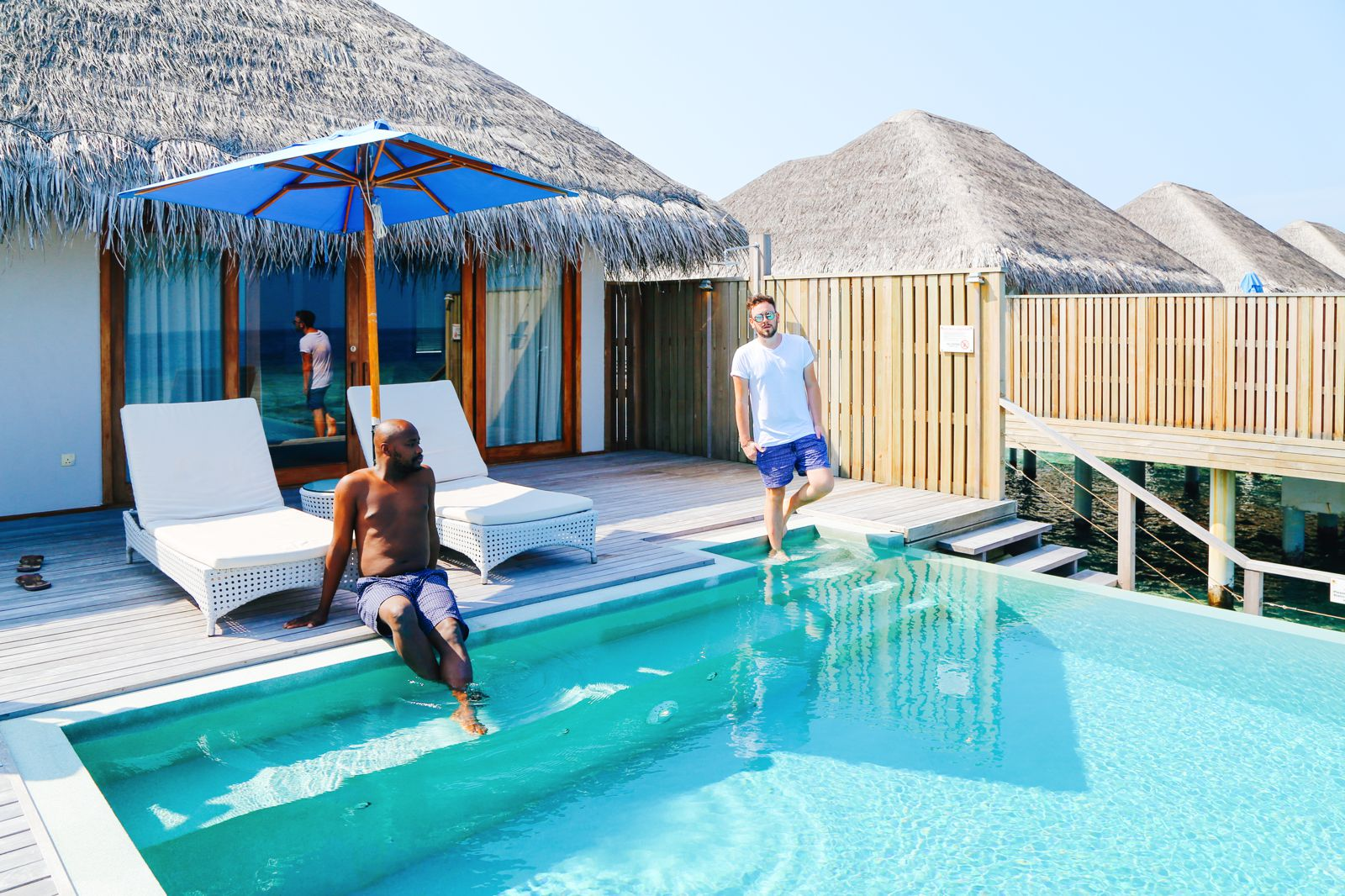 Arrival At The Dusit Thani In The Maldives! (29)
