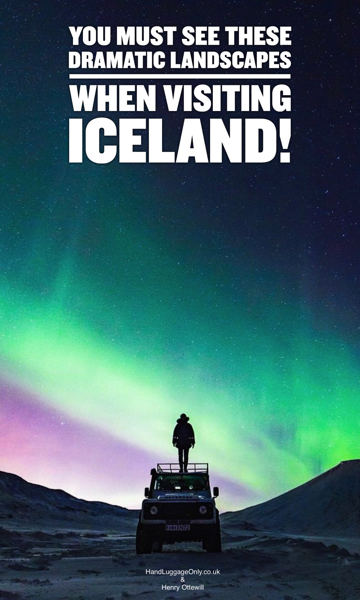 You Must Visit These Dramatic Landscapes In Iceland Video