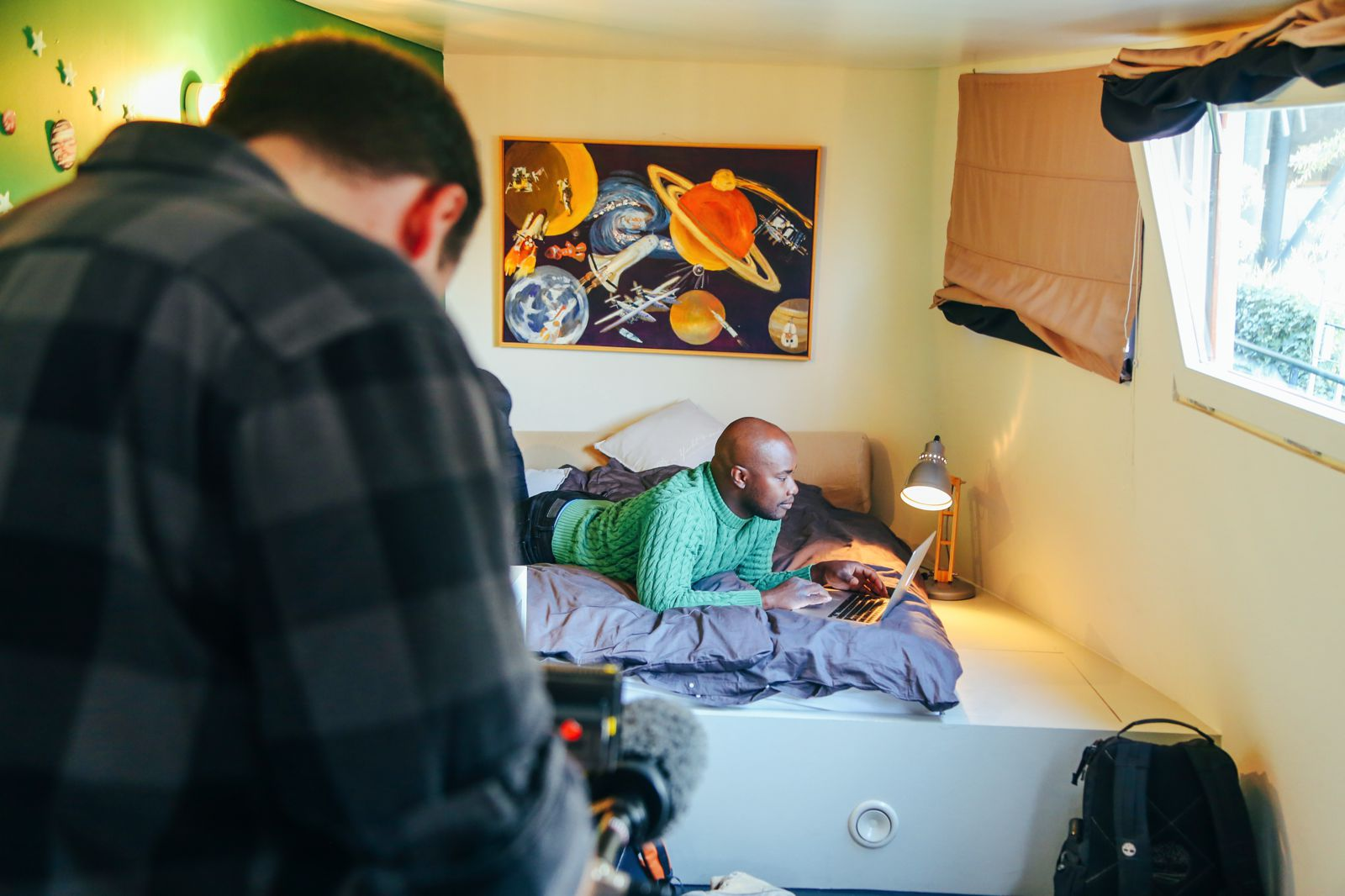 Behind The Scenes On Our AirBnB & STA Travel Video (7)