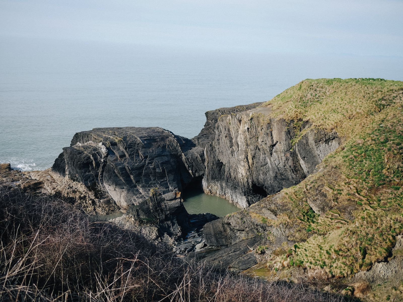 Exploring The UK's Dramatic Coastline... In Wales (14)