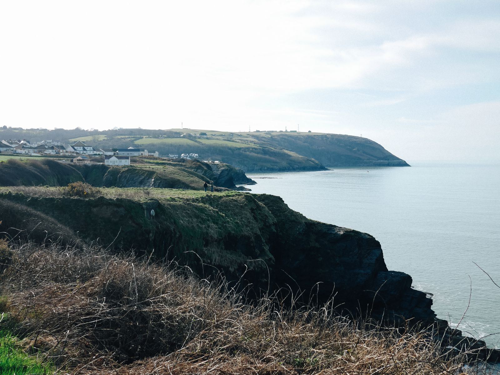 Exploring The UK's Dramatic Coastline... In Wales (19)