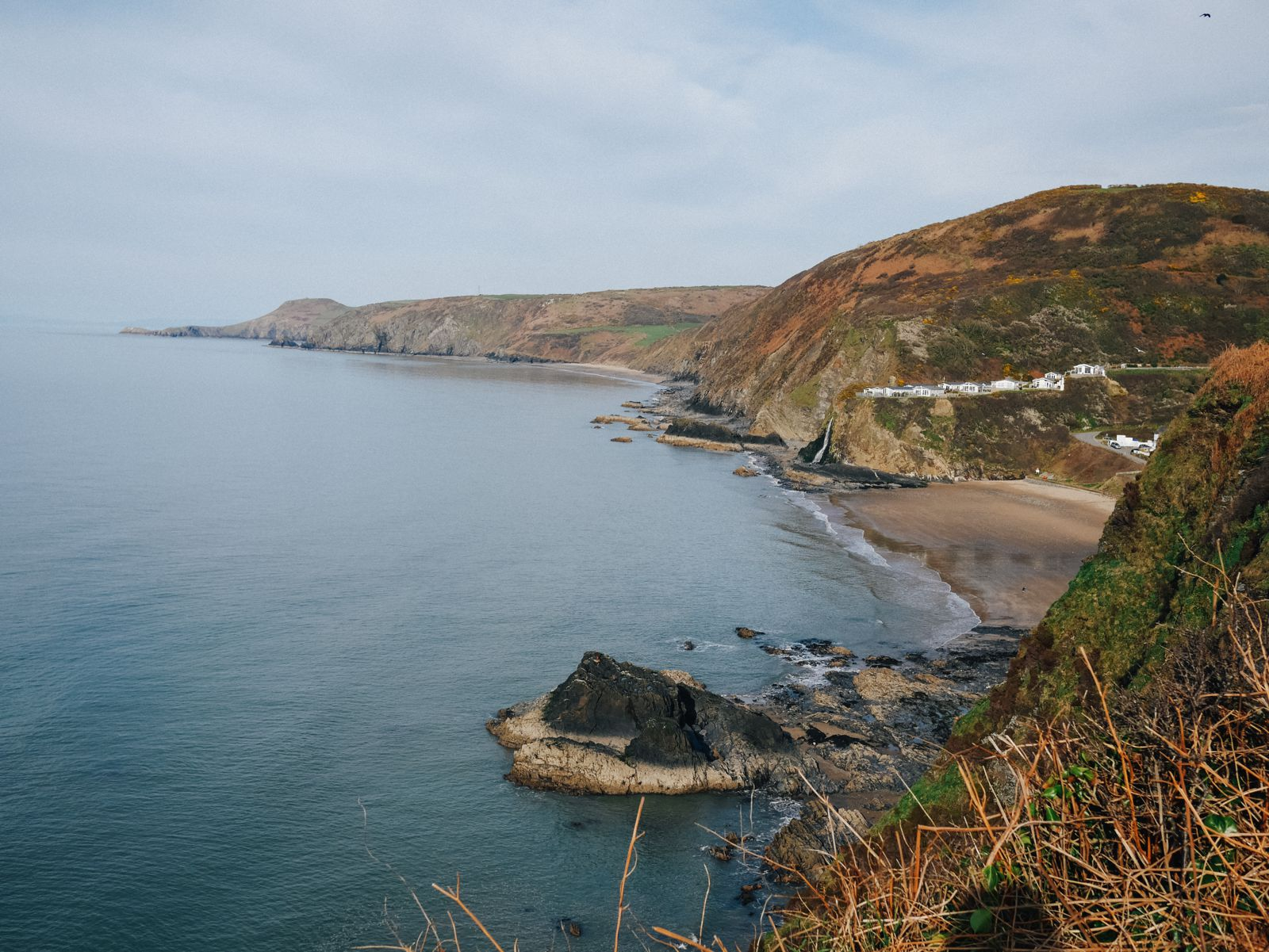 Exploring The UK's Dramatic Coastline... In Wales (30)