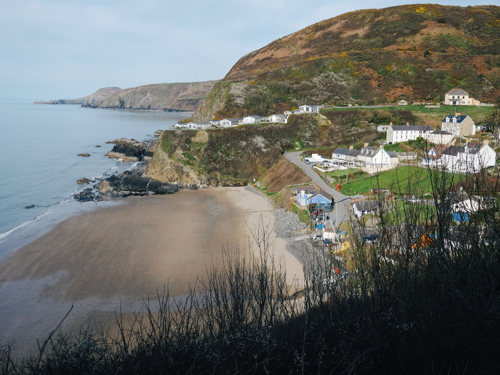 Exploring The UK's Dramatic Coastline... In Wales (35)