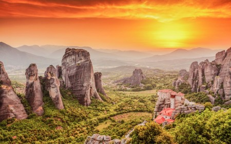 Have You Ever Heard Of The Rather Impressive Metéora In Greece?