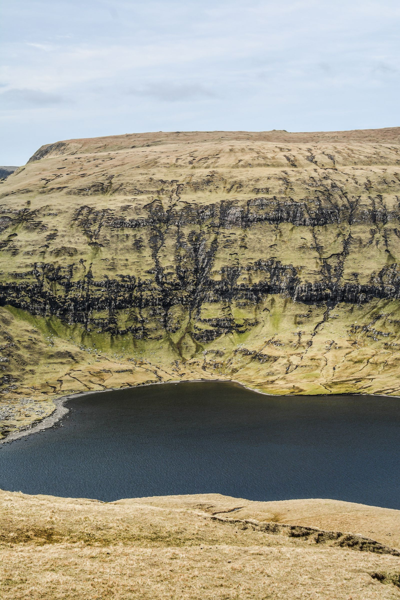 Have You Ever Seen The Cliff Top Lake of Sørvágsvatn, Faroe Islands? (10)