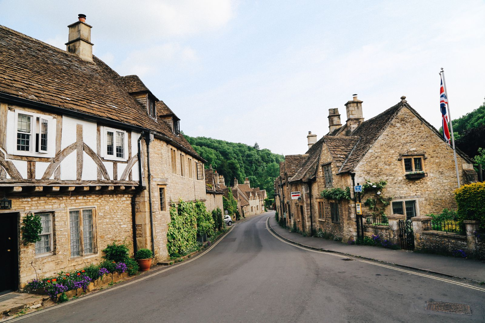 Exploring One Of England's Most Beautiful Villages - Castle Combe (1)
