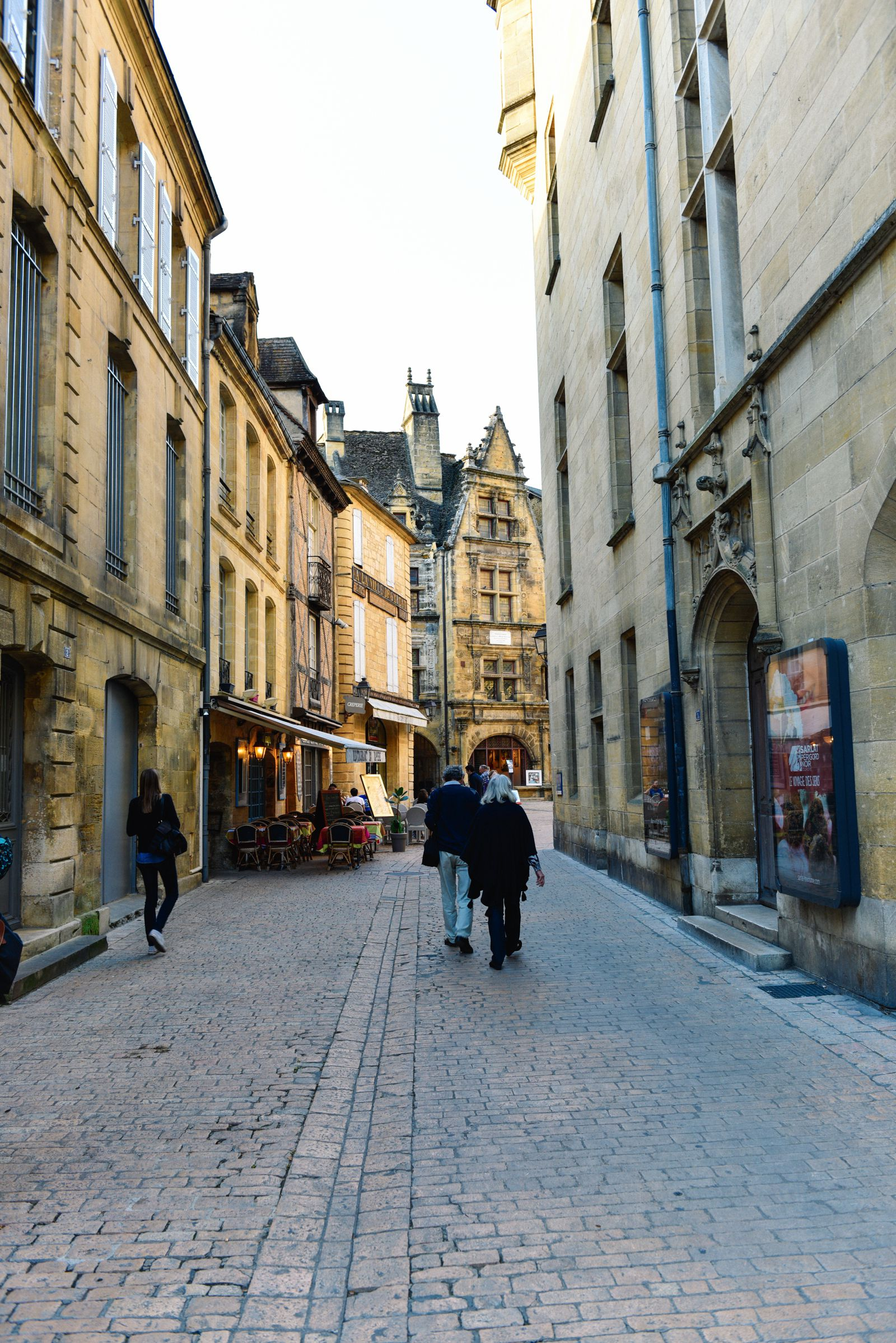 The Old Historic French Town Of Sarlat (1)