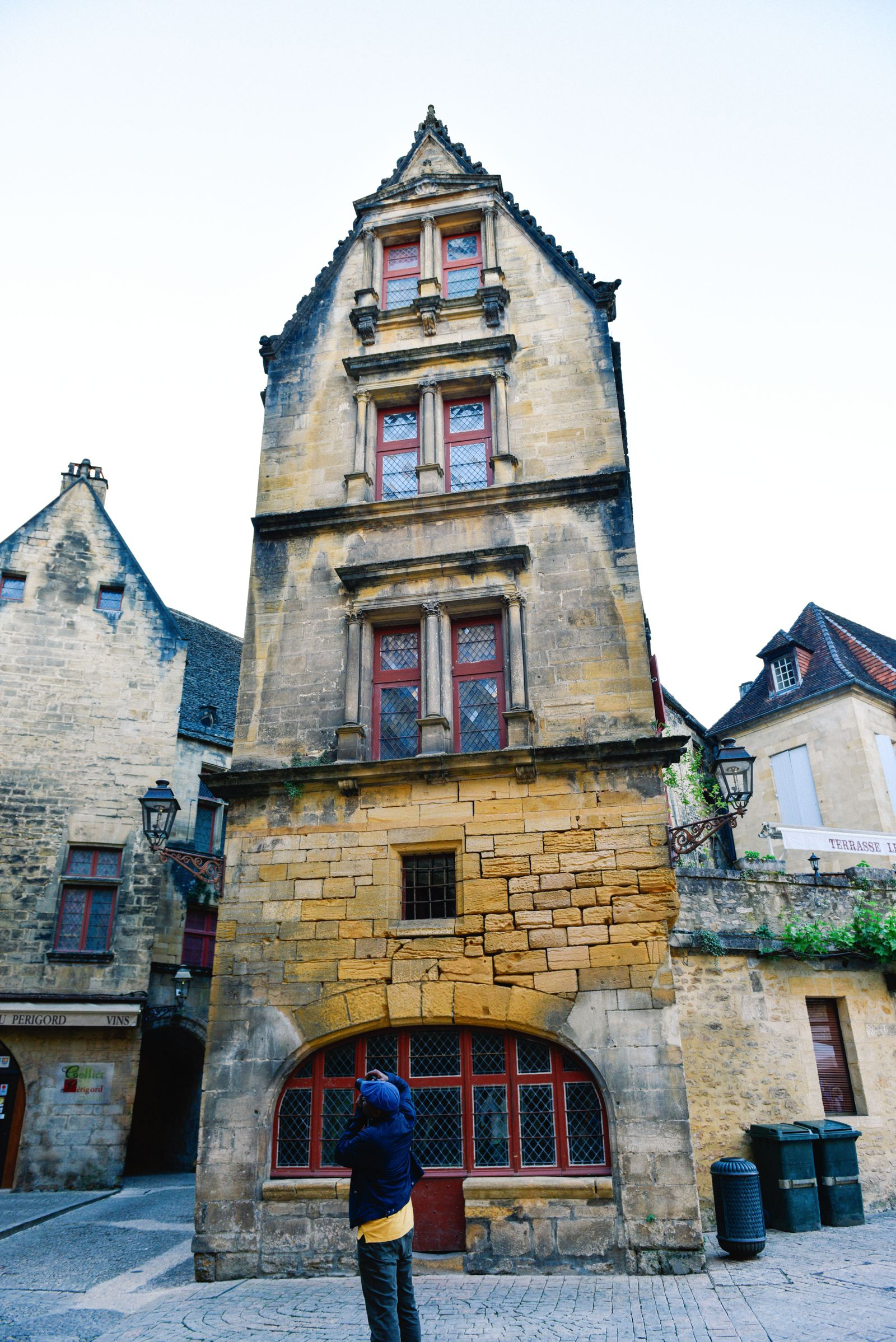 The Old Historic French Town Of Sarlat (13)