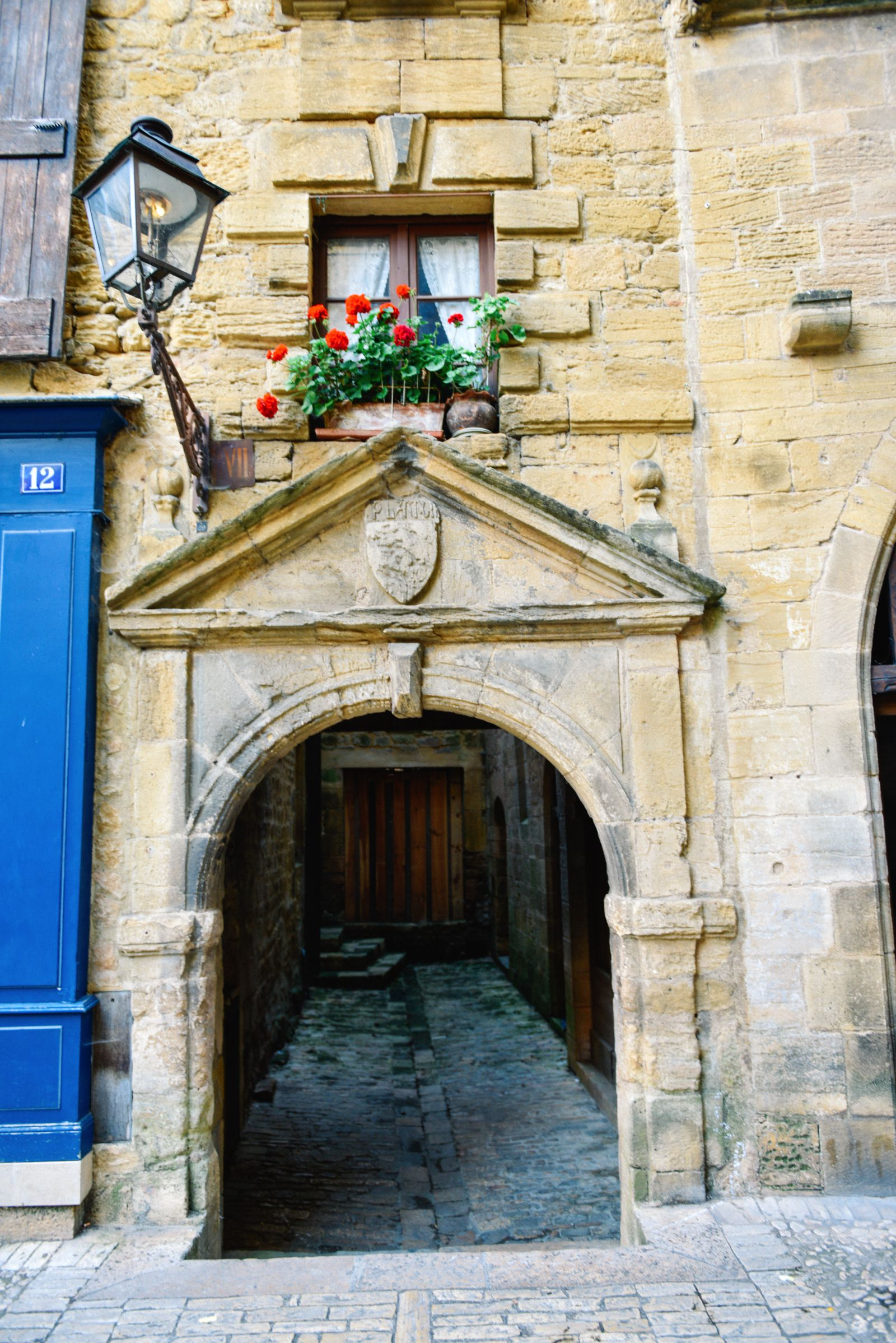 The Old Historic French Town Of Sarlat (25)