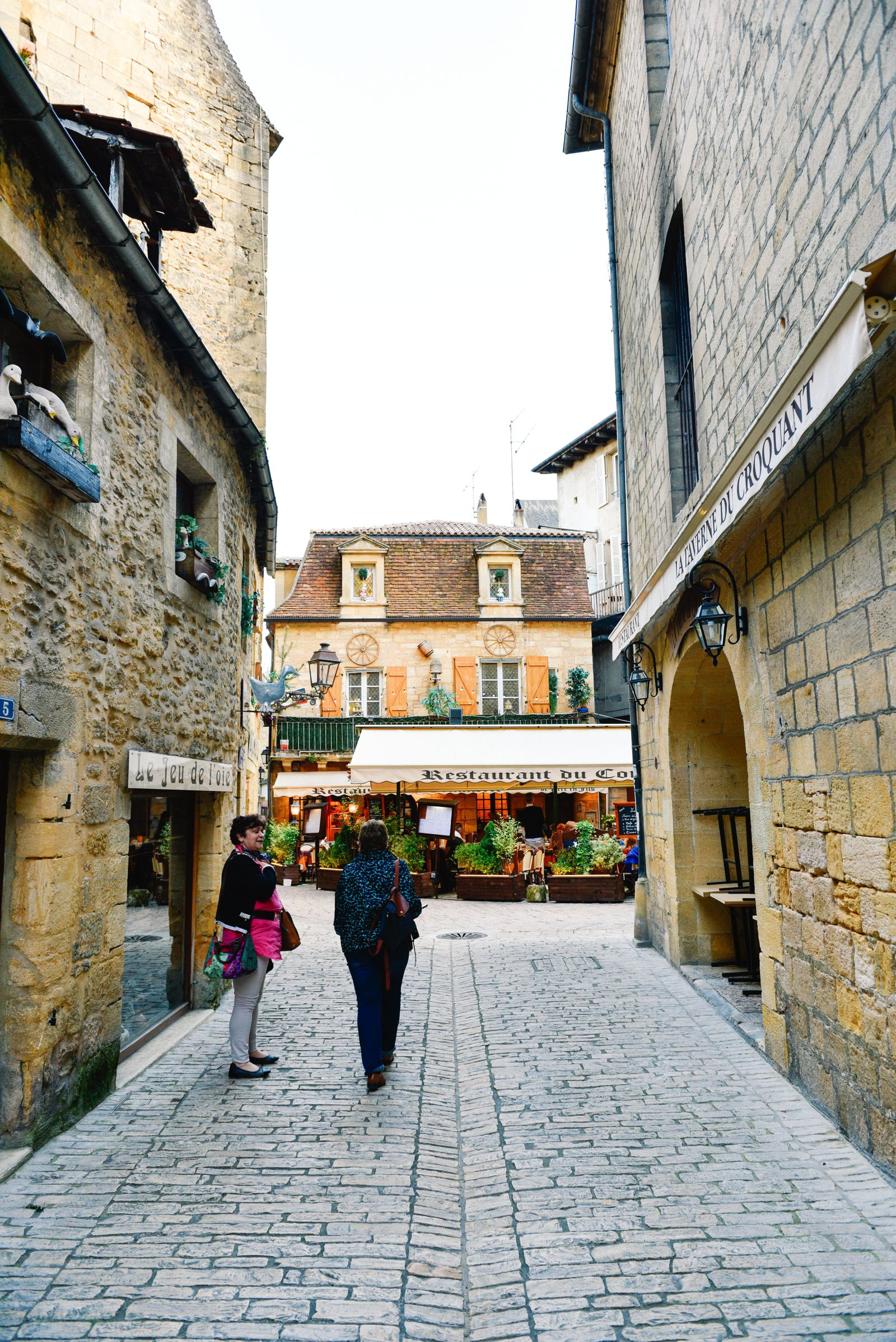 The Old Historic French Town Of Sarlat (28)