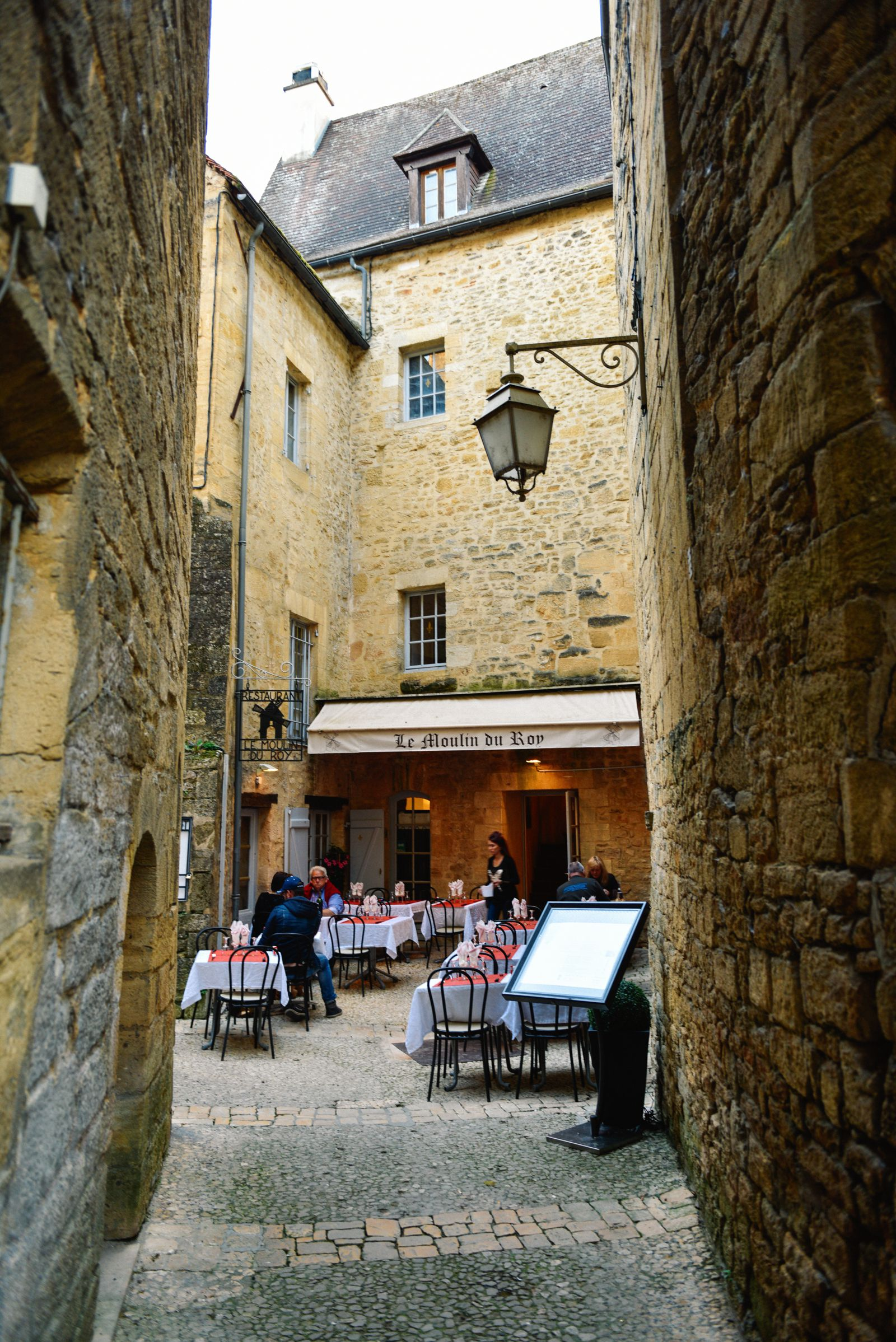 The Old Historic French Town Of Sarlat (29)