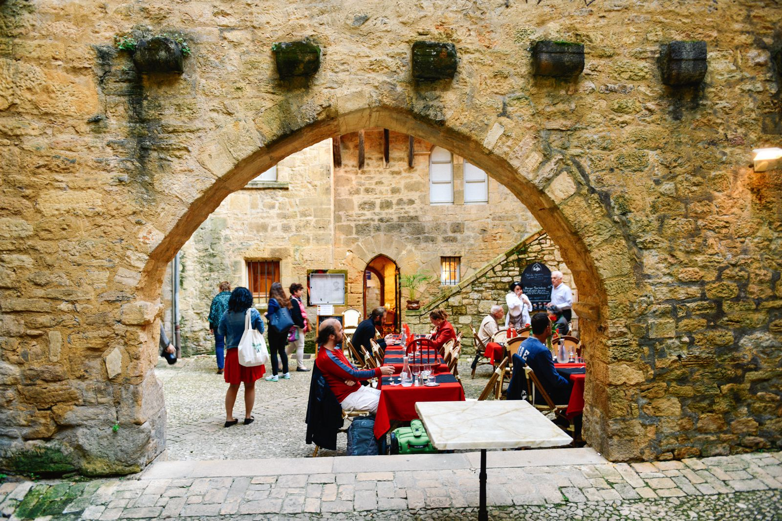 The Old Historic French Town Of Sarlat (30)
