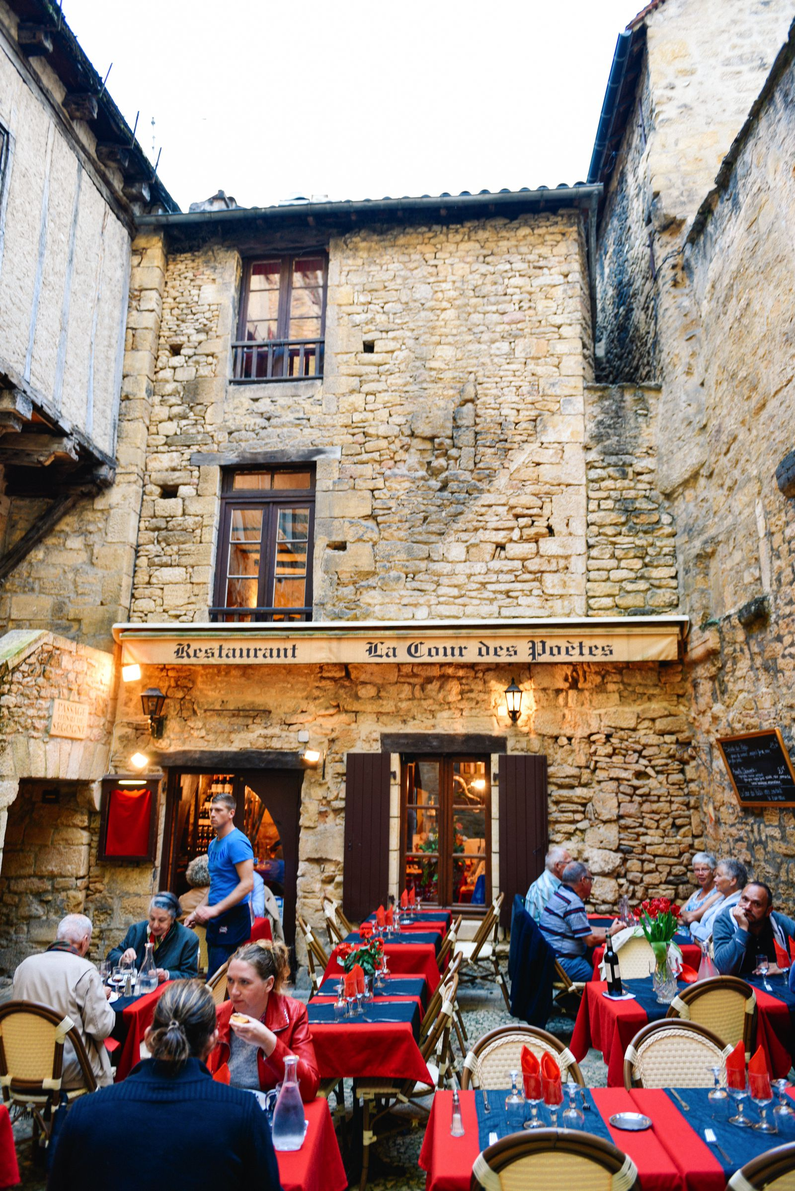 The Old Historic French Town Of Sarlat (31)