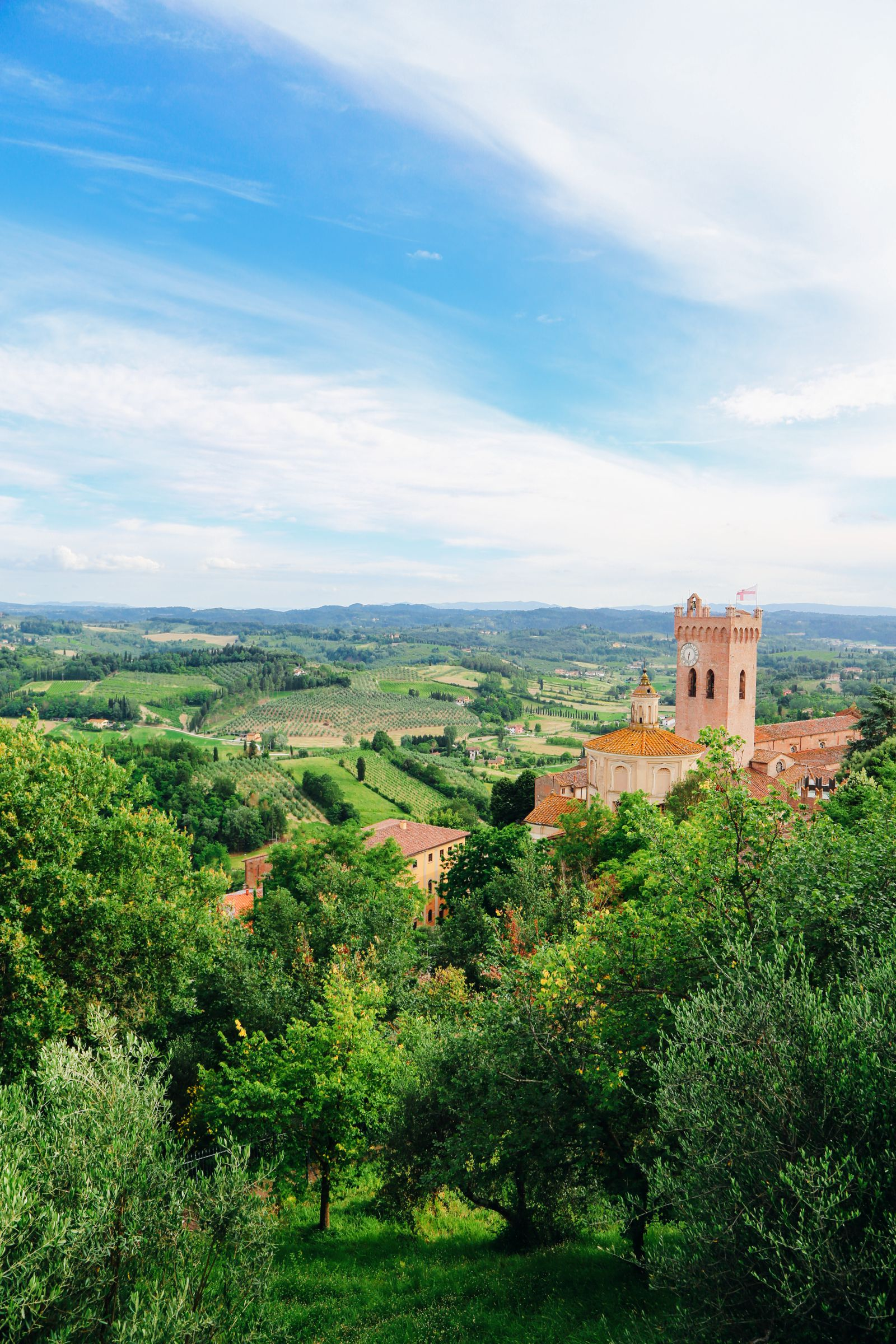 The Beautiful Tuscan Town Of San Miniato, Italy (9)