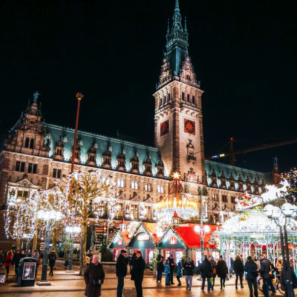 Christmas Market Fun In Hamburg, Germany… (1)