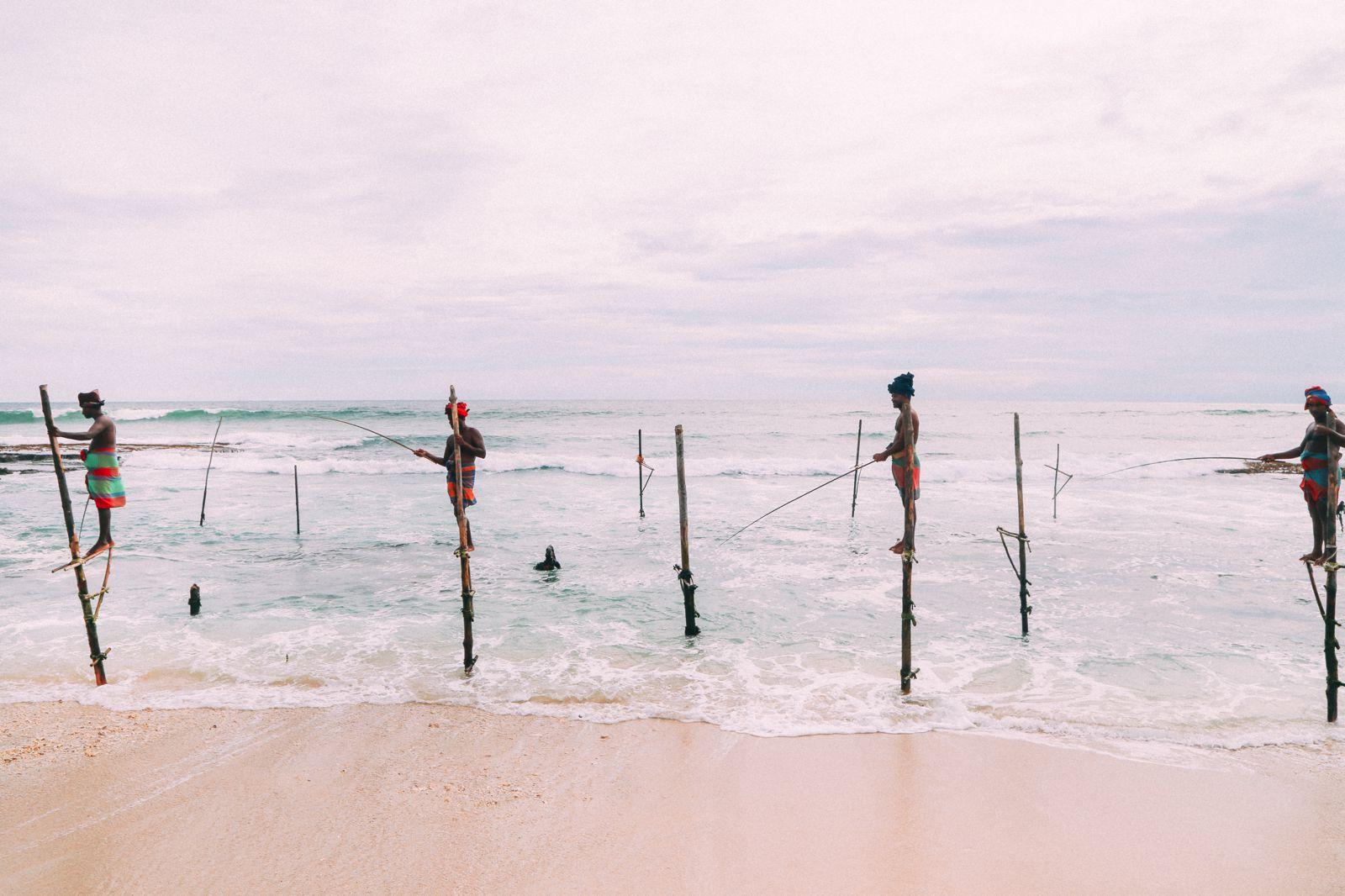 The Ancient Tradition Of Stilt Fishing… In Sri Lanka (22)